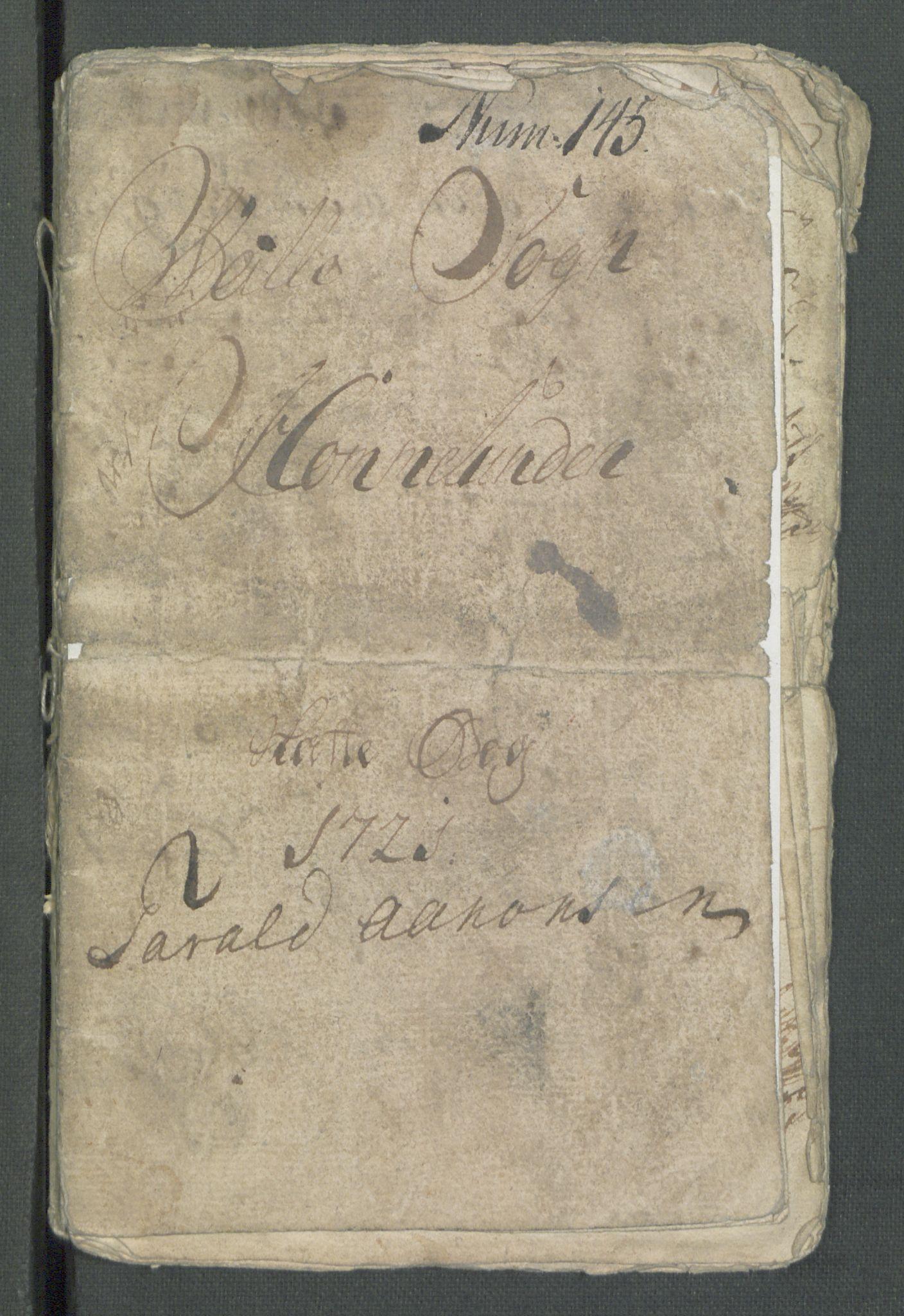 RA, Rentekammeret inntil 1814, Realistisk ordnet avdeling, Od/L0001: Oppløp, 1786-1769, s. 218