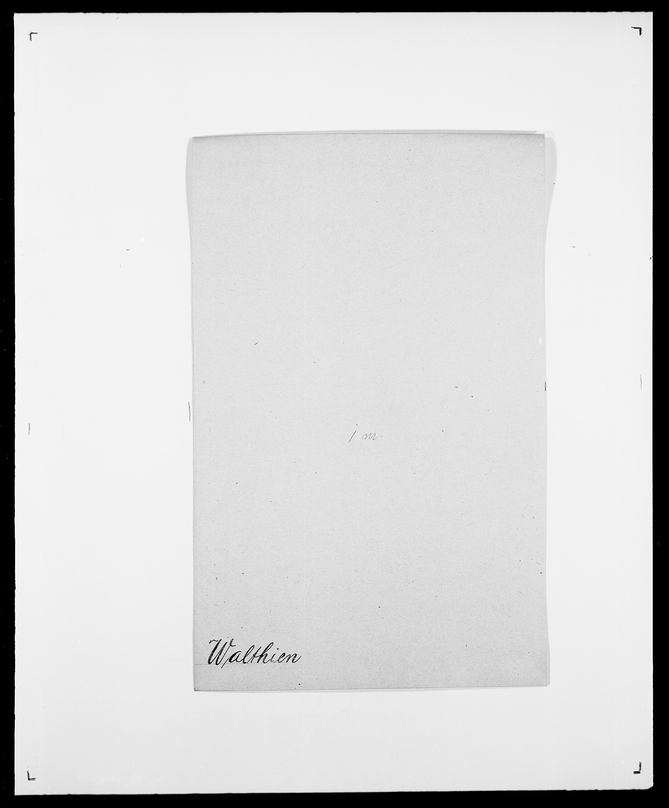 SAO, Delgobe, Charles Antoine - samling, D/Da/L0040: Usgaard - Velund, s. 262