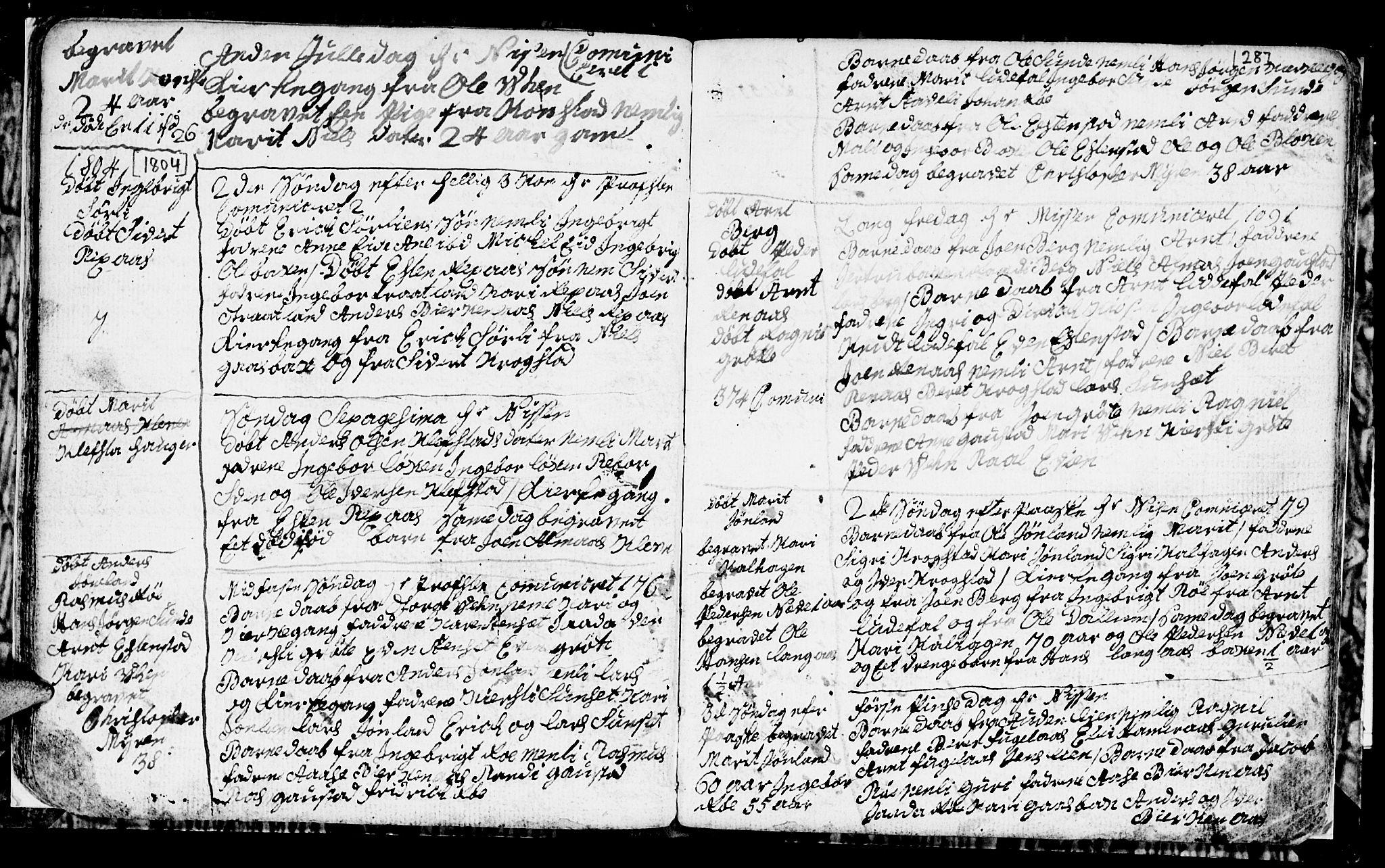 SAT, Ministerialprotokoller, klokkerbøker og fødselsregistre - Sør-Trøndelag, 694/L1129: Klokkerbok nr. 694C01, 1793-1815, s. 28