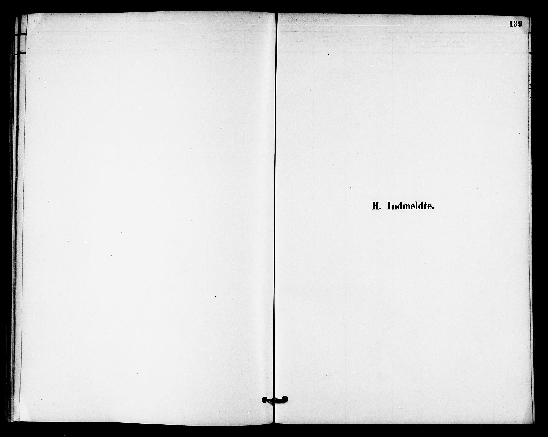 SAT, Ministerialprotokoller, klokkerbøker og fødselsregistre - Nord-Trøndelag, 740/L0378: Ministerialbok nr. 740A01, 1881-1895, s. 139