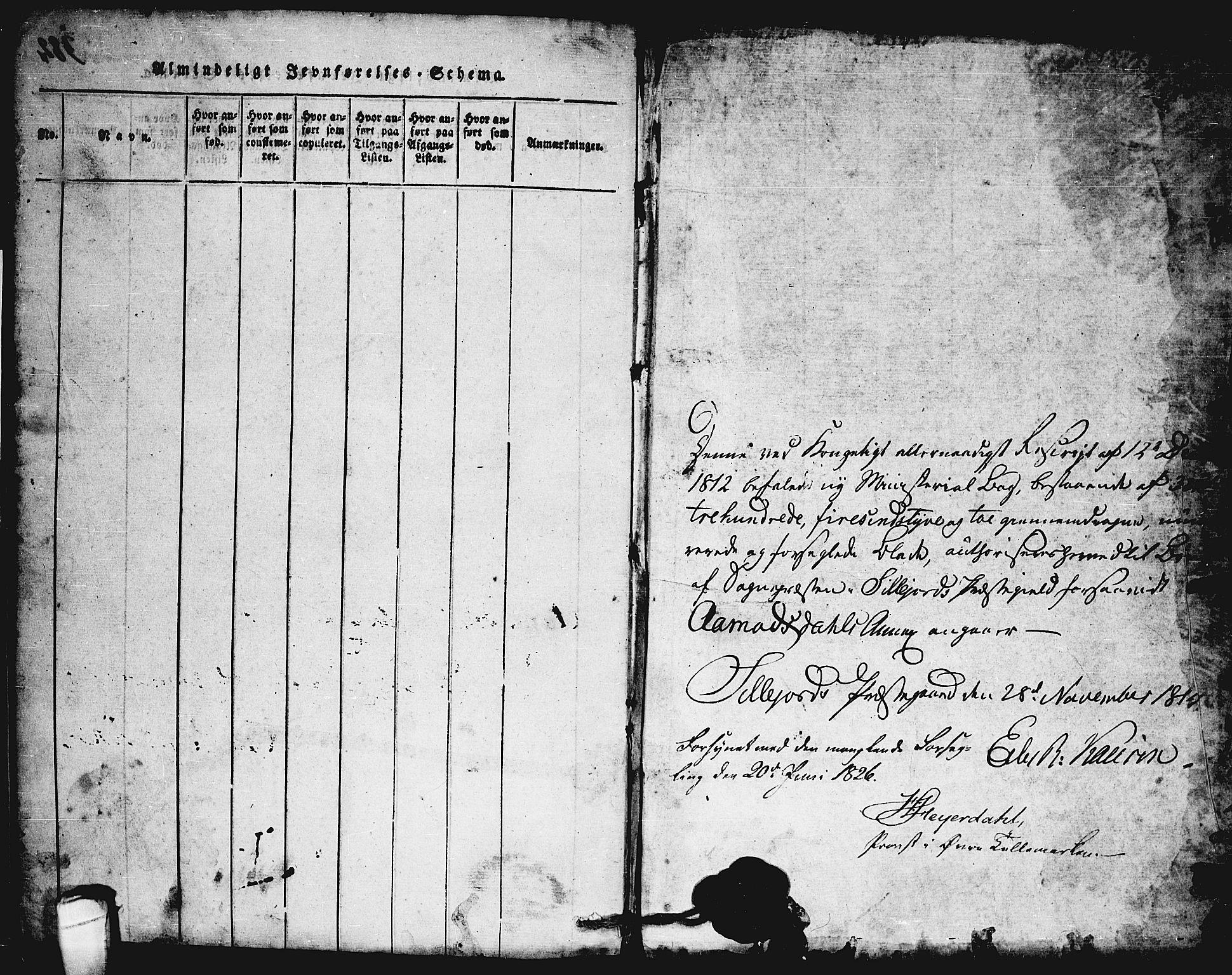 SAKO, Seljord kirkebøker, F/Fc/L0001: Ministerialbok nr. III 1, 1815-1831