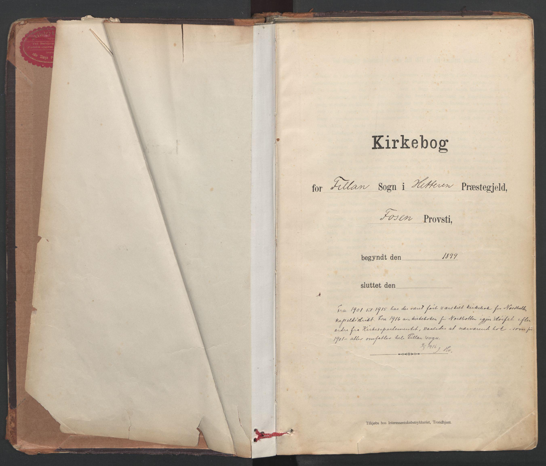 SAT, Ministerialprotokoller, klokkerbøker og fødselsregistre - Sør-Trøndelag, 637/L0559: Ministerialbok nr. 637A02, 1899-1923