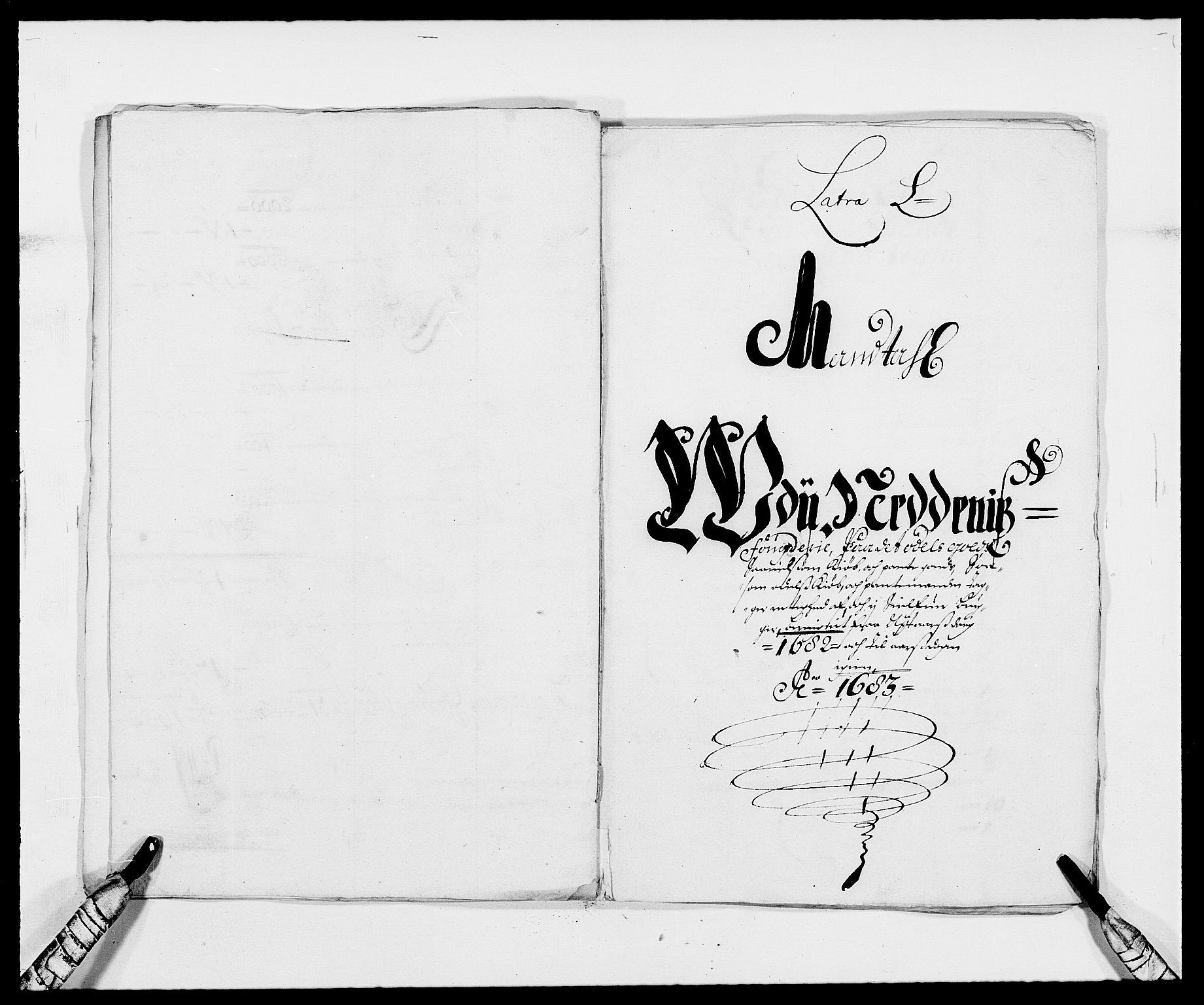 RA, Rentekammeret inntil 1814, Reviderte regnskaper, Fogderegnskap, R39/L2304: Fogderegnskap Nedenes, 1680-1682, s. 305