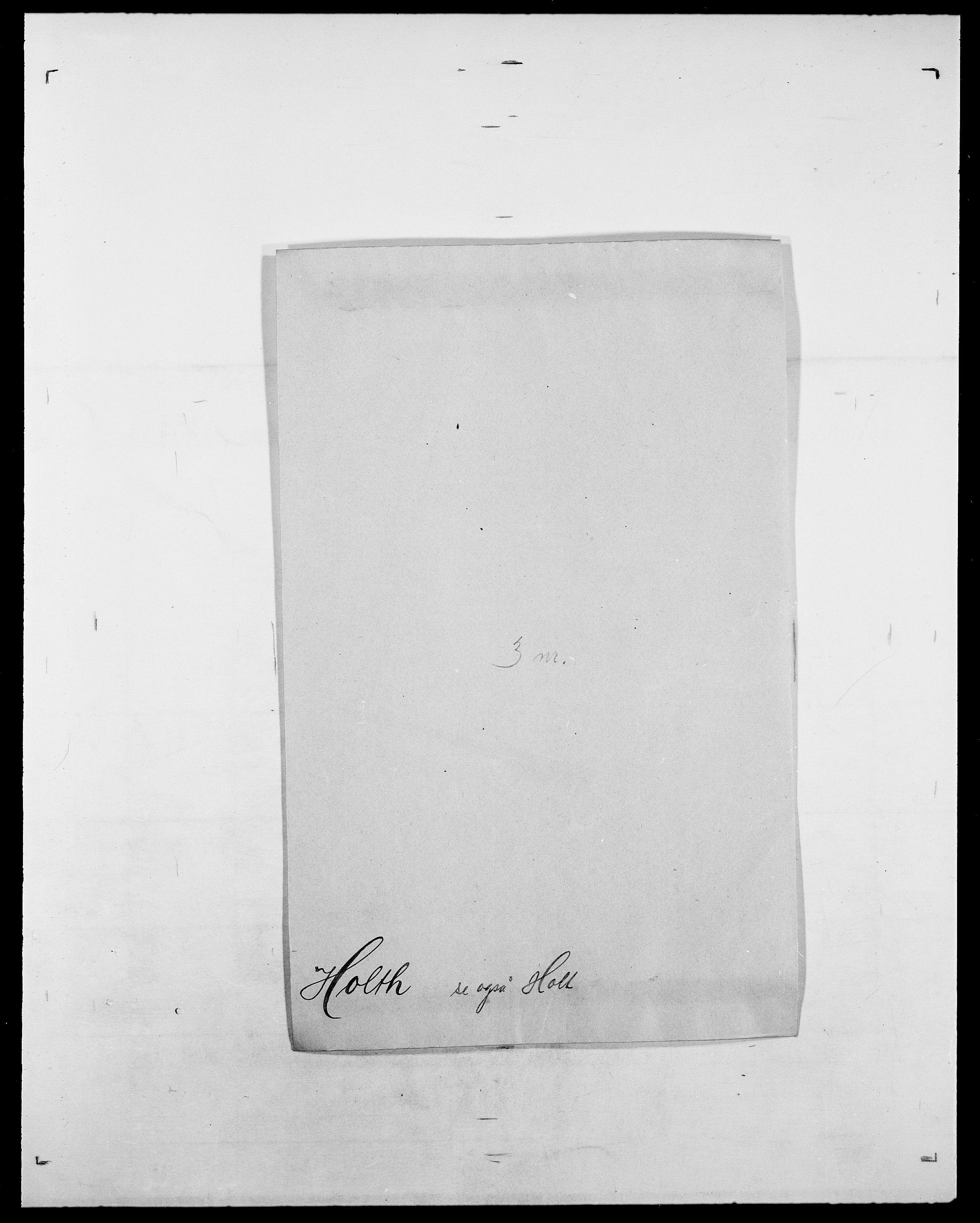 SAO, Delgobe, Charles Antoine - samling, D/Da/L0018: Hoch - Howert, s. 875