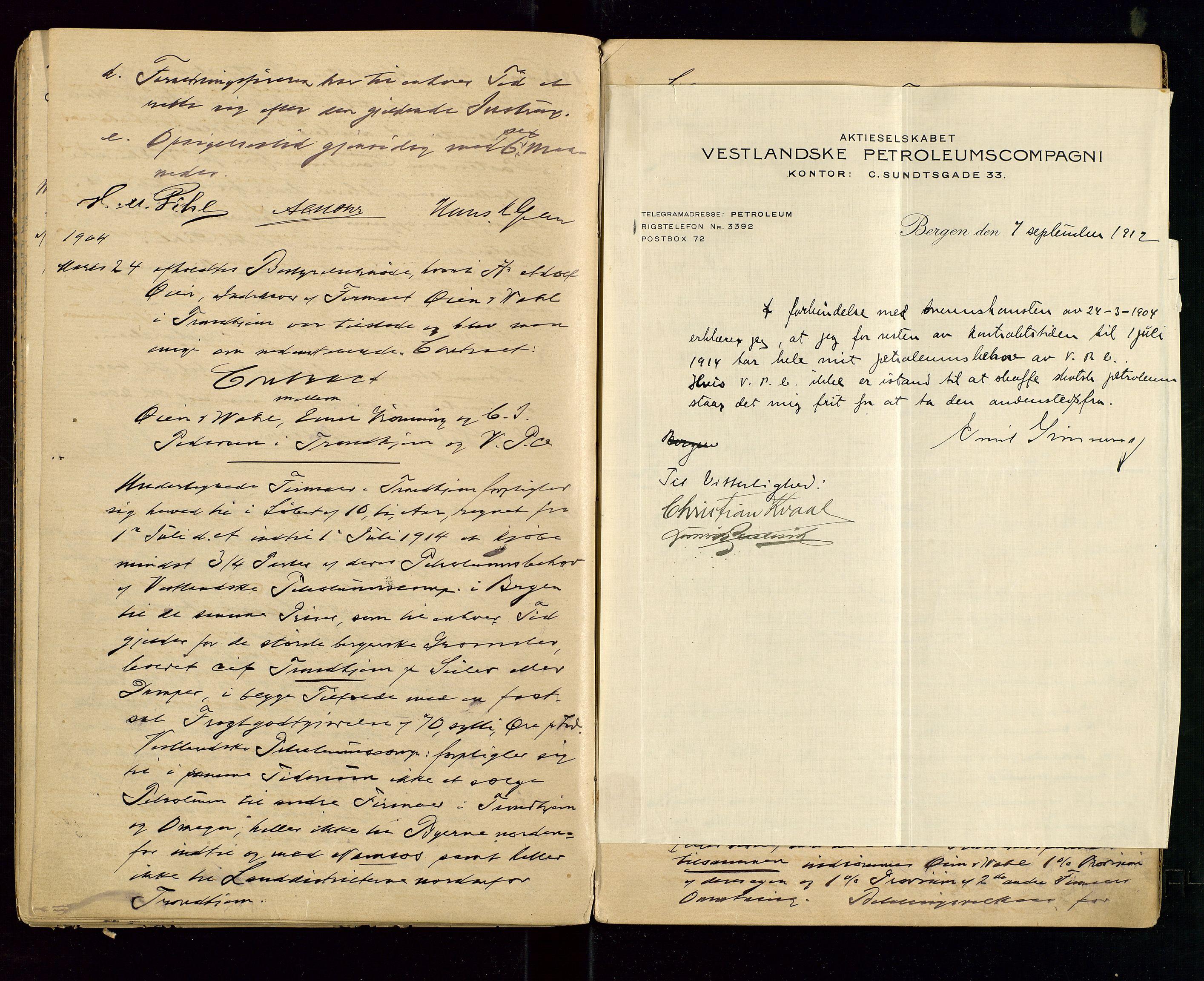 SAST, PA 1533 - A/S Vestlandske Petroleumscompani, A/Aa/L0001: Generalforsamlinger og styreprotokoller, 1890-1907, s. 50