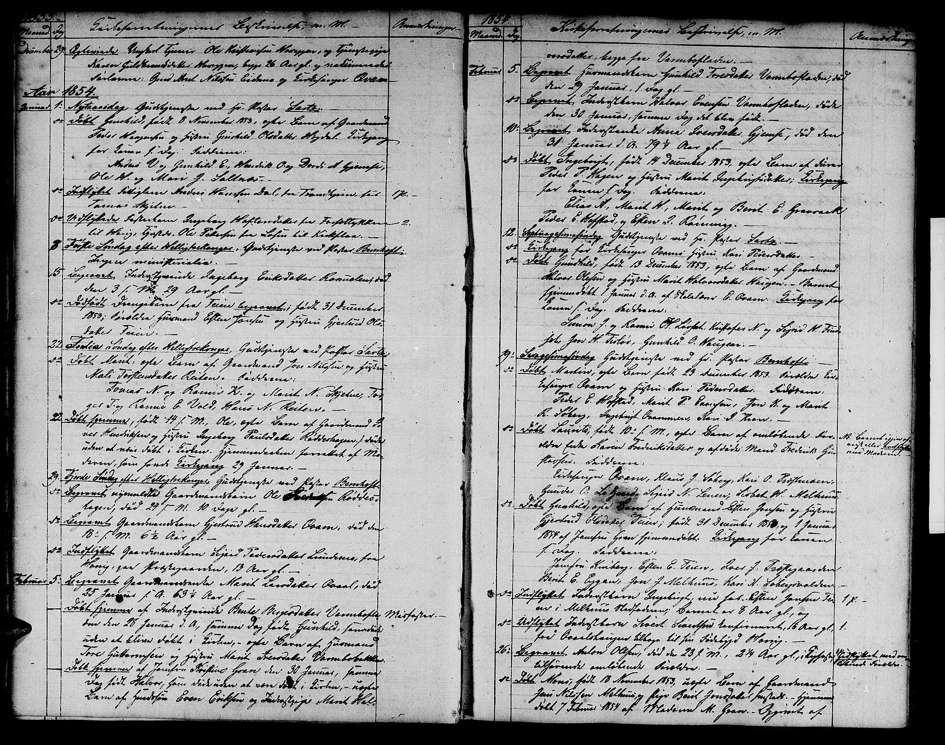 SAT, Ministerialprotokoller, klokkerbøker og fødselsregistre - Sør-Trøndelag, 691/L1093: Klokkerbok nr. 691C04, 1852-1879, s. 10
