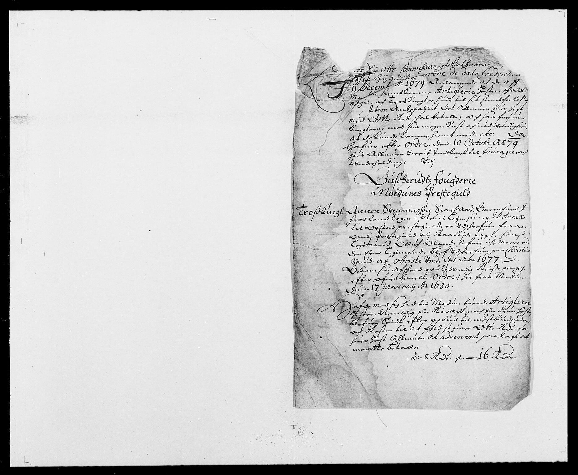 RA, Rentekammeret inntil 1814, Reviderte regnskaper, Fogderegnskap, R25/L1674: Fogderegnskap Buskerud, 1678-1681, s. 387