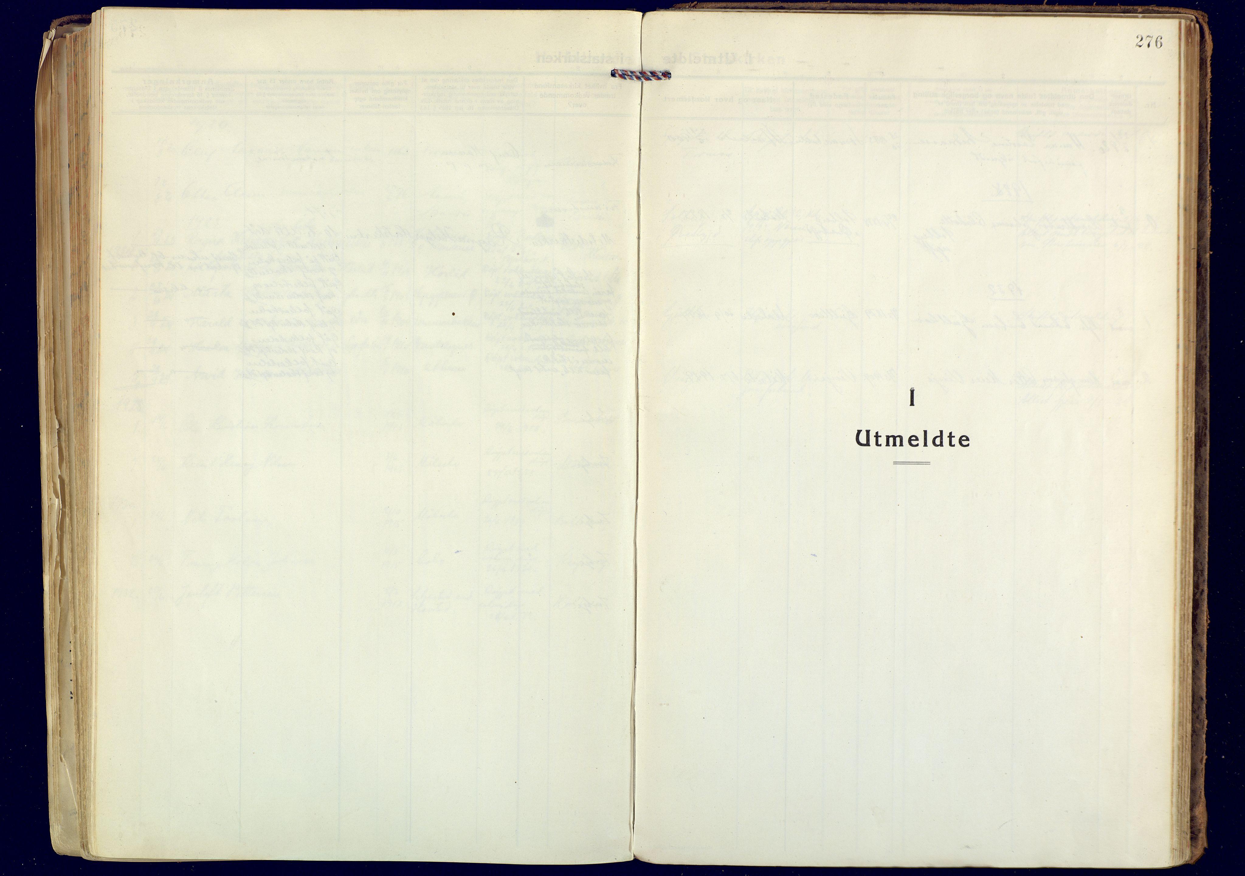 SATØ, Målselv sokneprestembete, Ministerialbok nr. 14, 1919-1932, s. 276