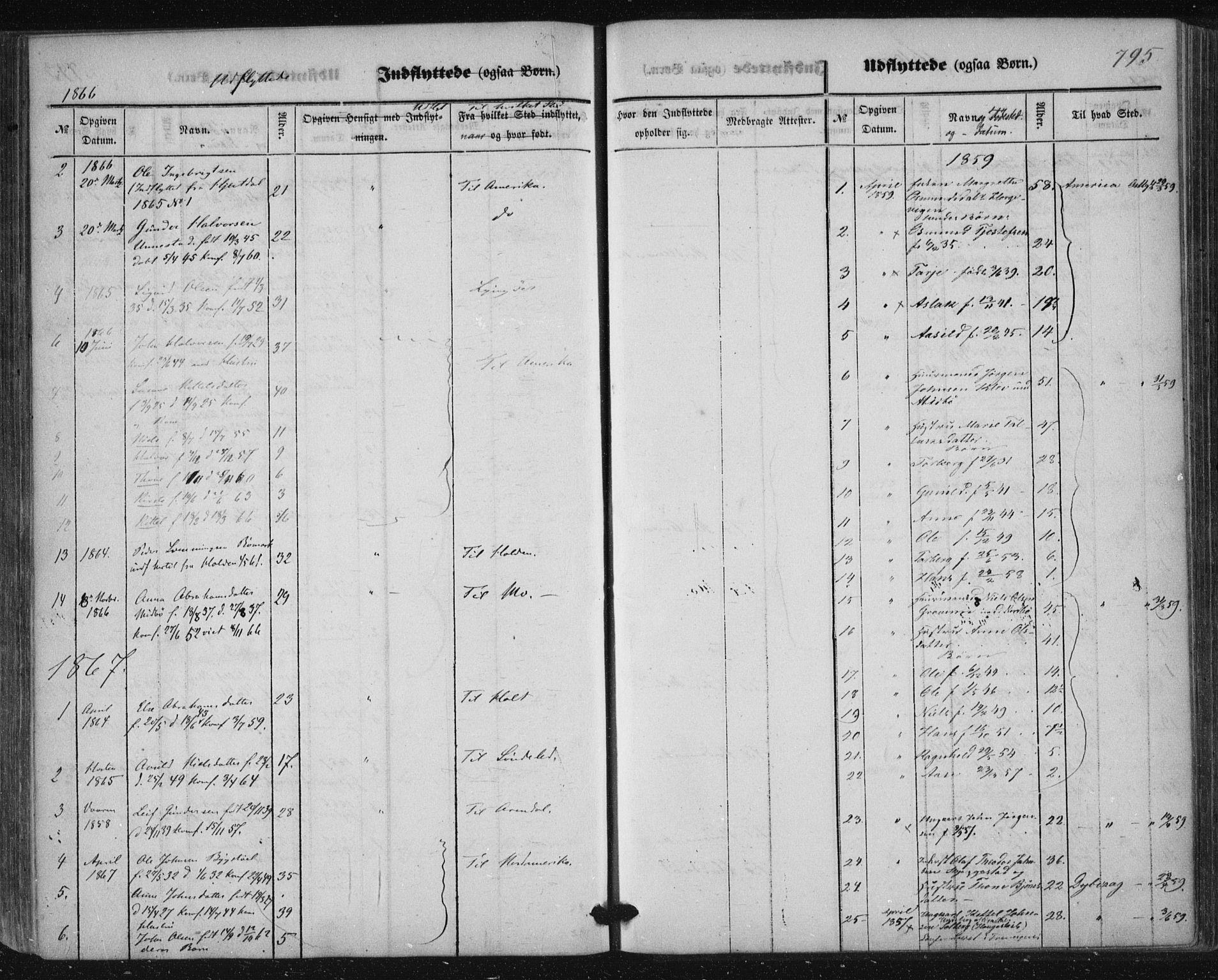 SAKO, Nissedal kirkebøker, F/Fa/L0003: Ministerialbok nr. I 3, 1846-1870, s. 794-795