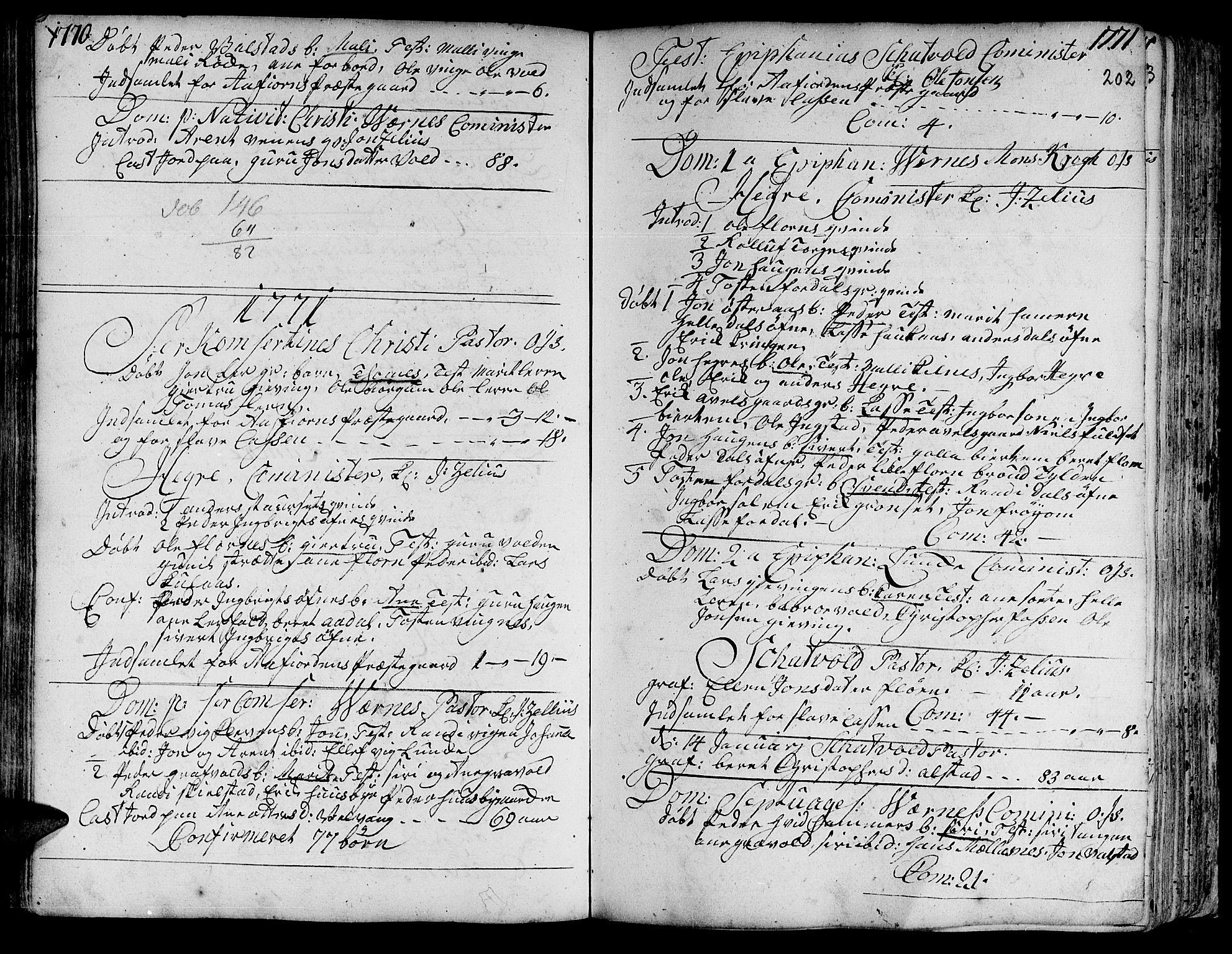 SAT, Ministerialprotokoller, klokkerbøker og fødselsregistre - Nord-Trøndelag, 709/L0057: Ministerialbok nr. 709A05, 1755-1780, s. 202