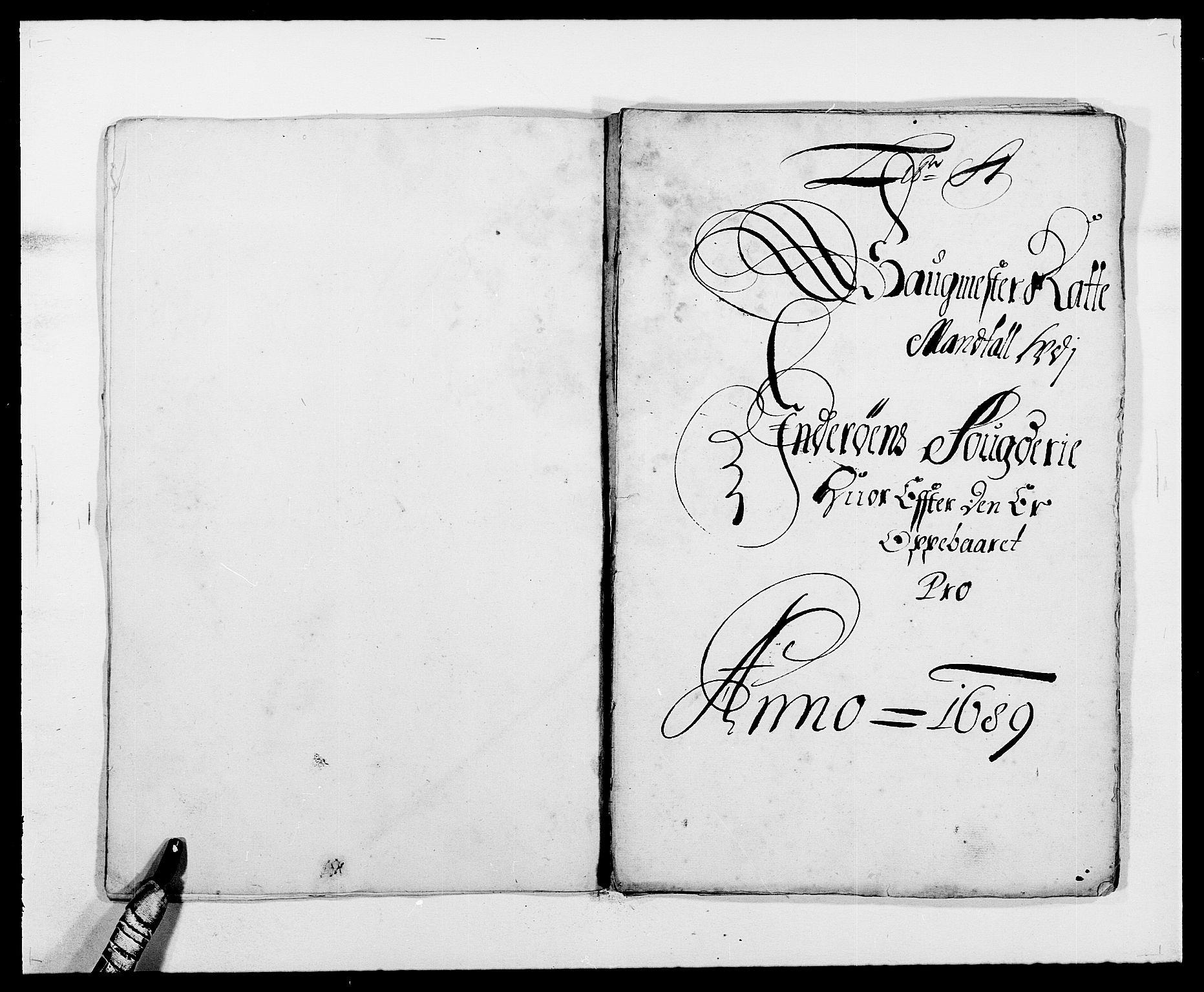 RA, Rentekammeret inntil 1814, Reviderte regnskaper, Fogderegnskap, R63/L4306: Fogderegnskap Inderøy, 1687-1689, s. 395