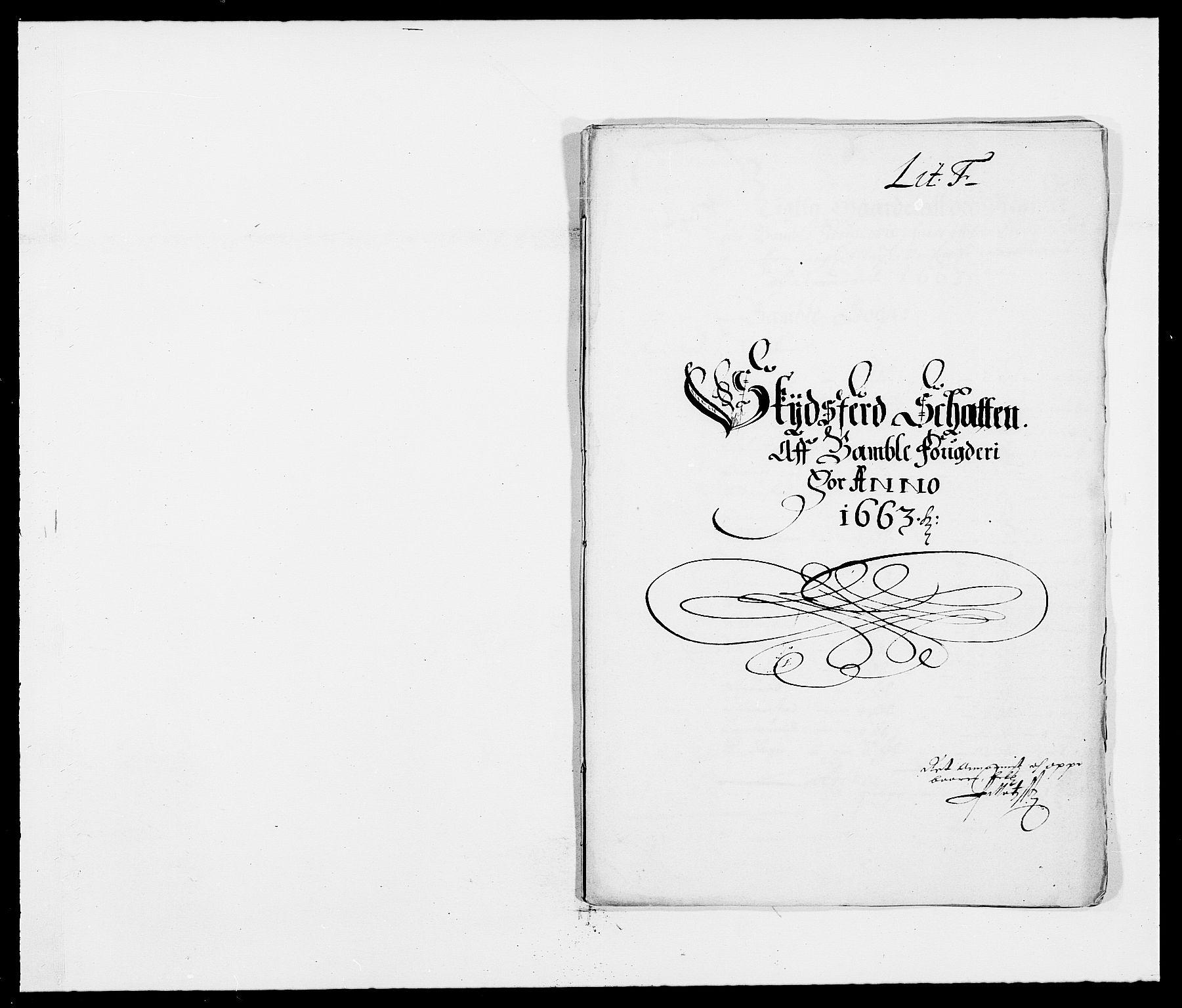 RA, Rentekammeret inntil 1814, Reviderte regnskaper, Fogderegnskap, R34/L2037: Fogderegnskap Bamble, 1662-1669, s. 234