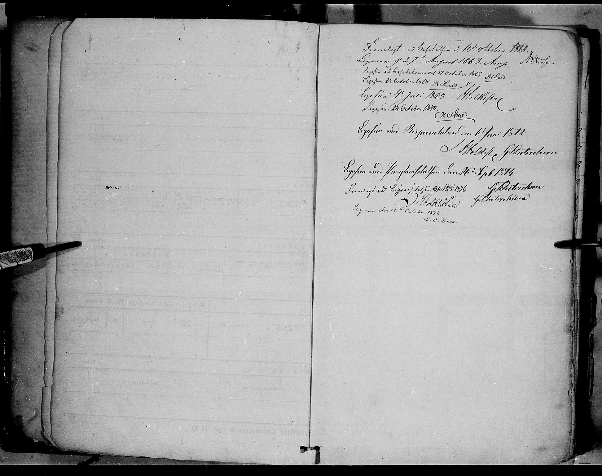 SAH, Ringebu prestekontor, Ministerialbok nr. 7, 1860-1877