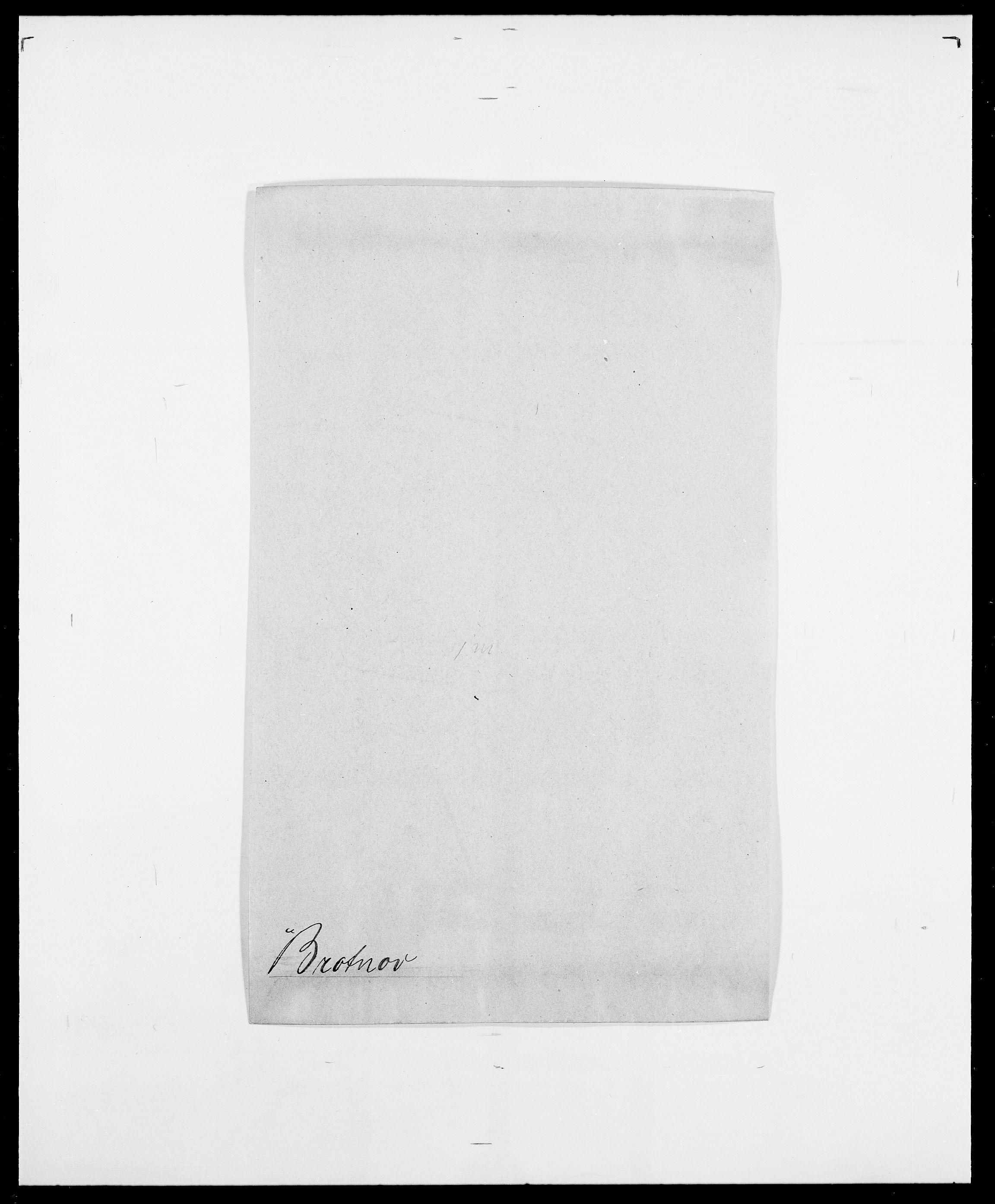 SAO, Delgobe, Charles Antoine - samling, D/Da/L0006: Brambani - Brønø, s. 537