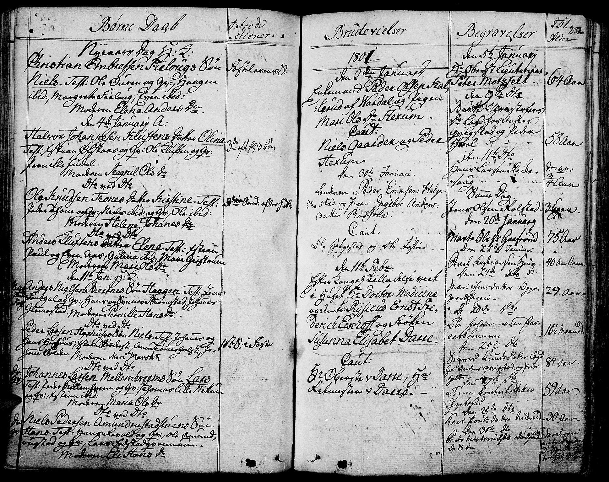 SAH, Toten prestekontor, Ministerialbok nr. 7, 1794-1809, s. 252