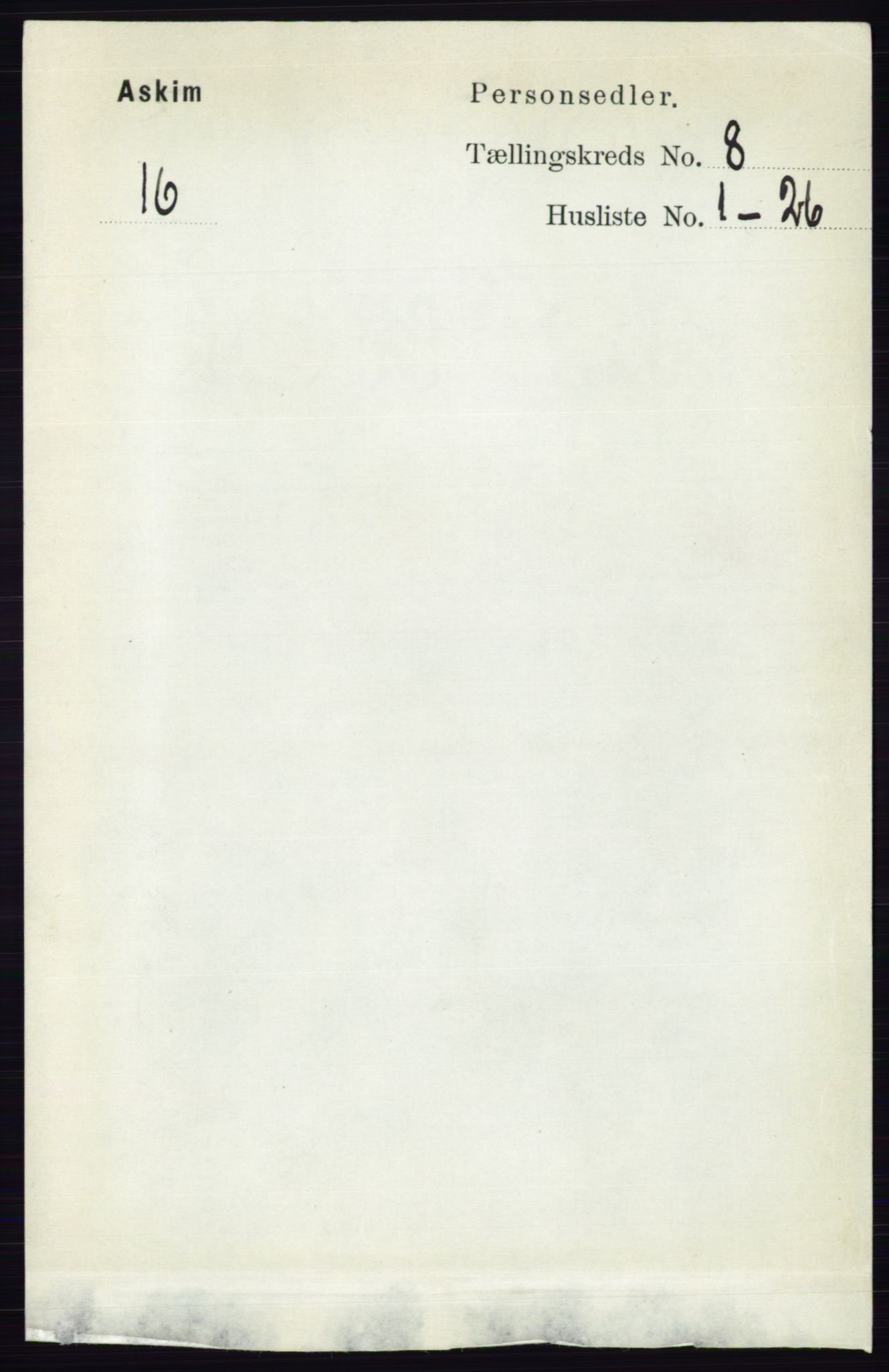 RA, Folketelling 1891 for 0124 Askim herred, 1891, s. 1243