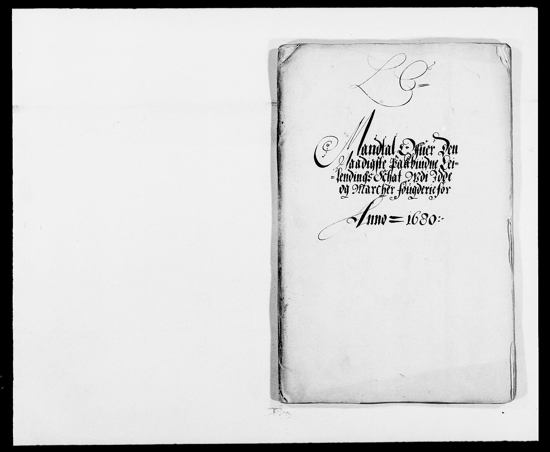 RA, Rentekammeret inntil 1814, Reviderte regnskaper, Fogderegnskap, R01/L0002: Fogderegnskap Idd og Marker, 1680-1681, s. 107