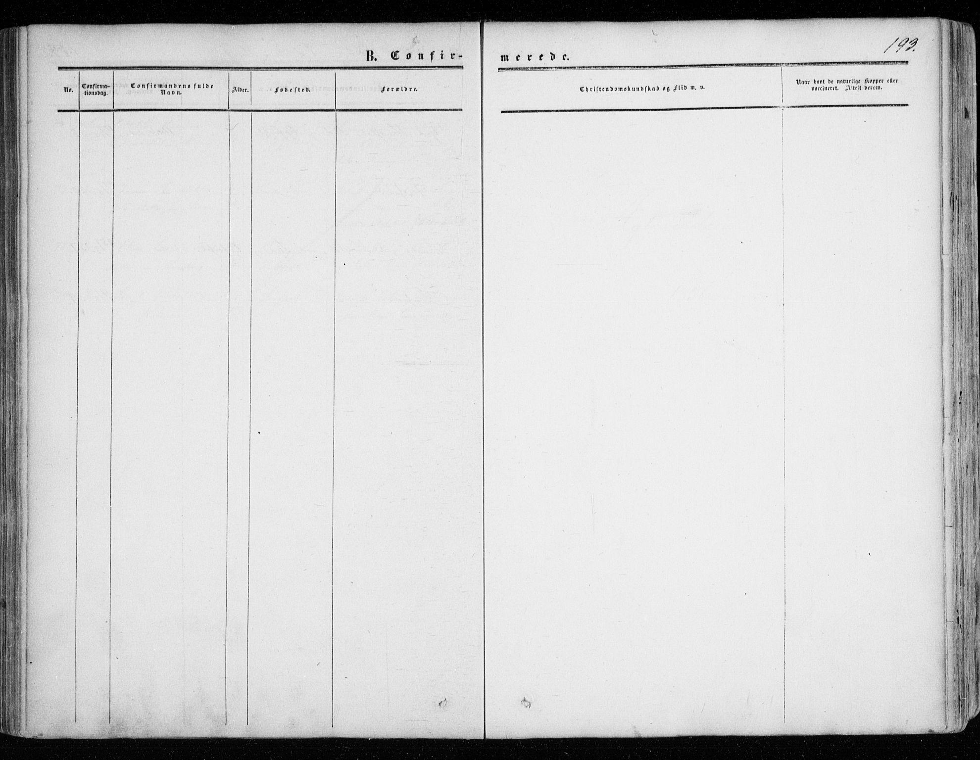 SATØ, Tranøy sokneprestkontor, I/Ia/Iaa/L0007kirke: Ministerialbok nr. 7, 1856-1866, s. 193