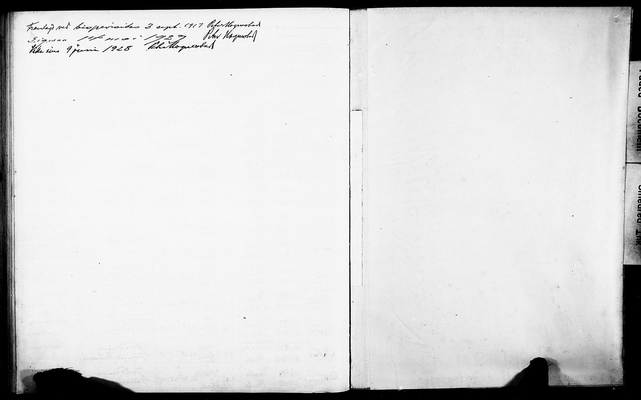 SAB, Herdla Sokneprestembete, I/Id/L00A1: Fødselsregister nr. A 1, 1916-1929