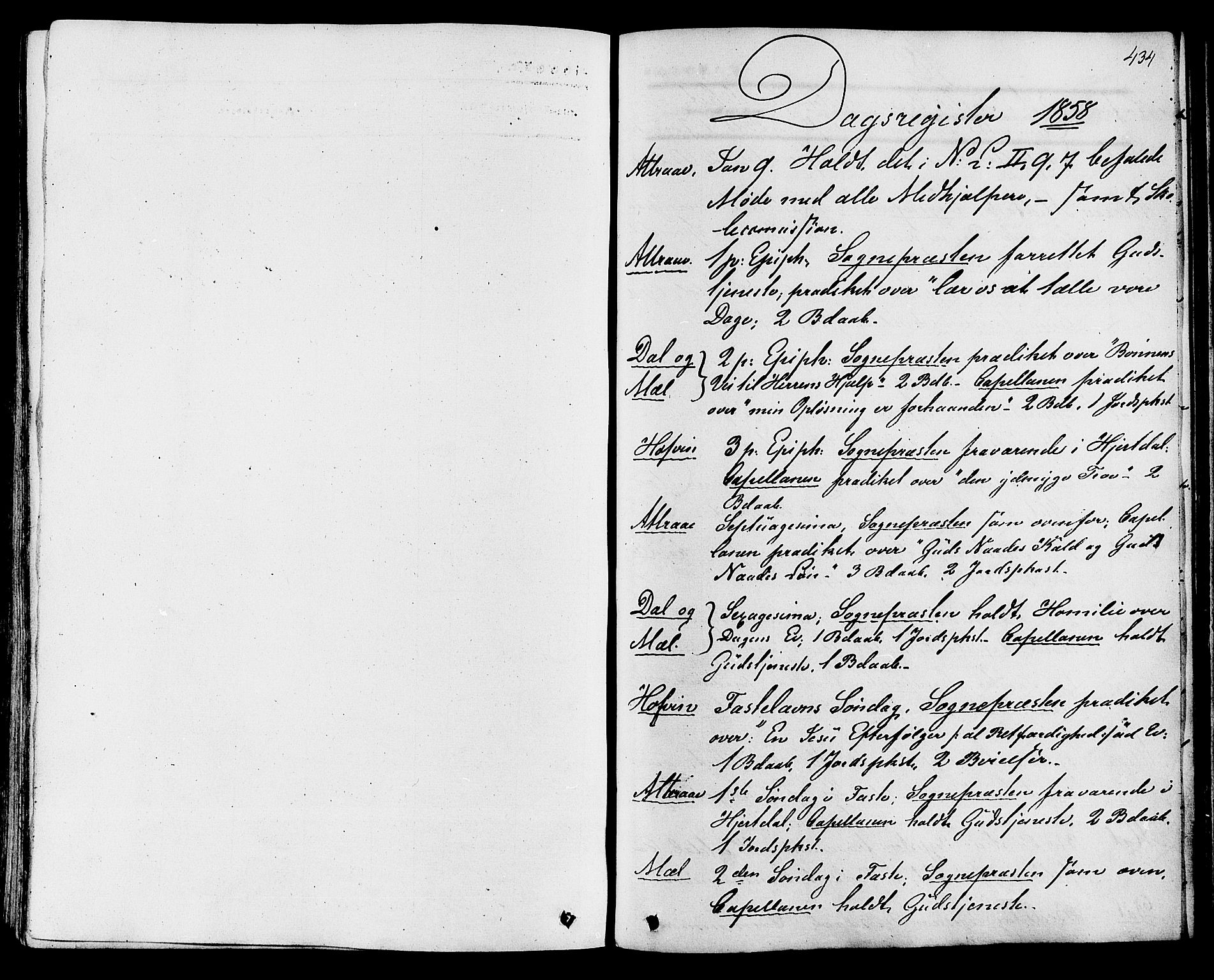 SAKO, Tinn kirkebøker, F/Fa/L0006: Ministerialbok nr. I 6, 1857-1878, s. 434