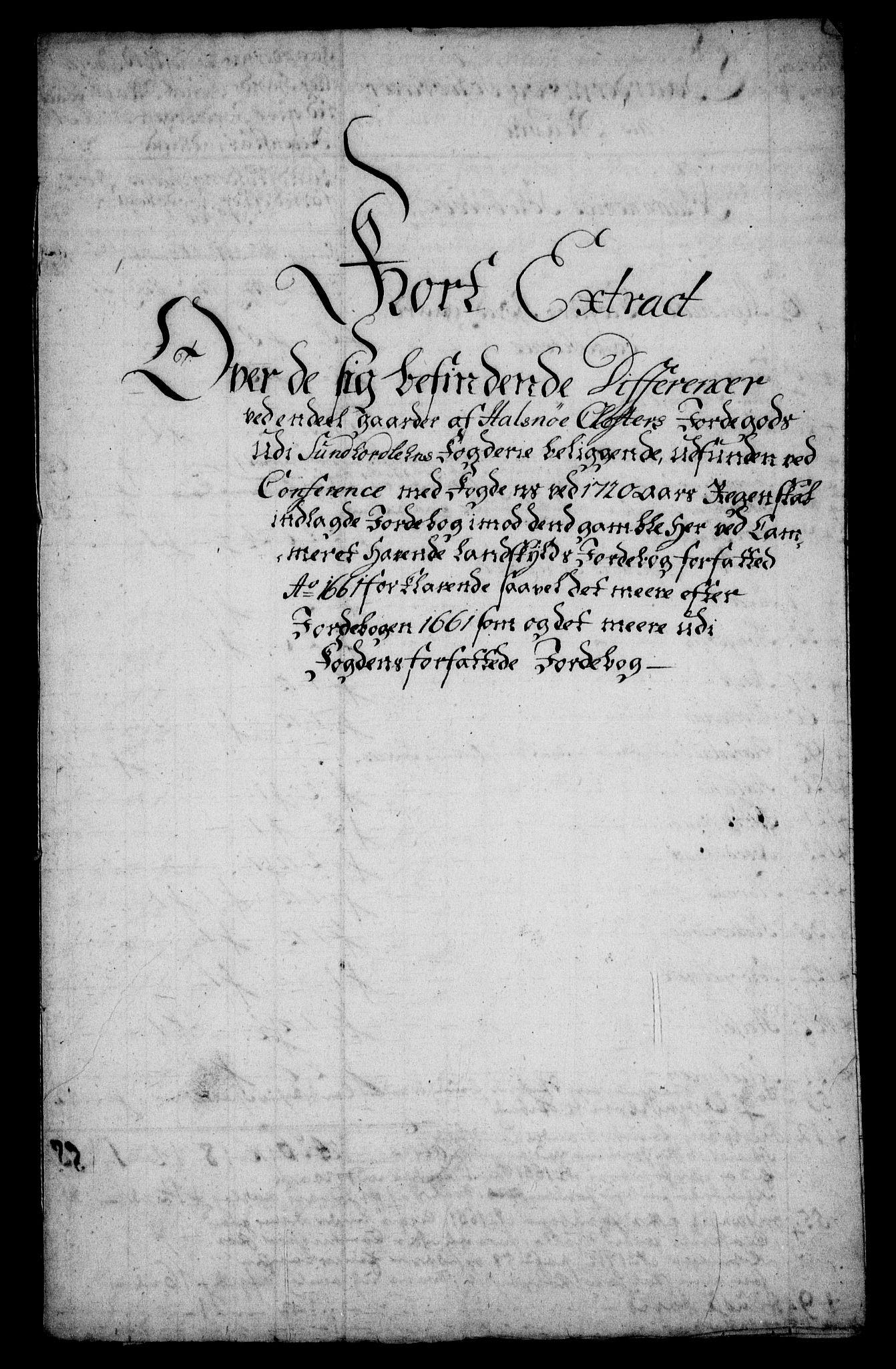 RA, Rentekammeret inntil 1814, Realistisk ordnet avdeling, On/L0005: [Jj 6]: Forskjellige dokumenter om Halsnøy klosters gods, 1697-1770, s. 376