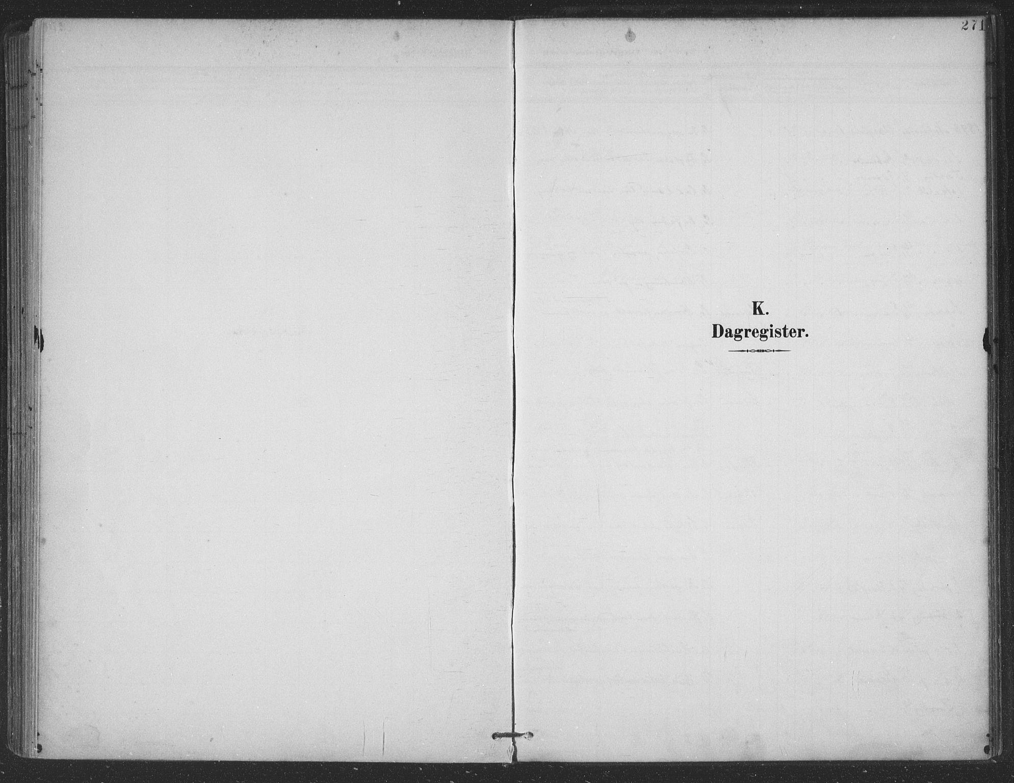 SAT, Ministerialprotokoller, klokkerbøker og fødselsregistre - Nordland, 863/L0899: Ministerialbok nr. 863A11, 1897-1906, s. 271