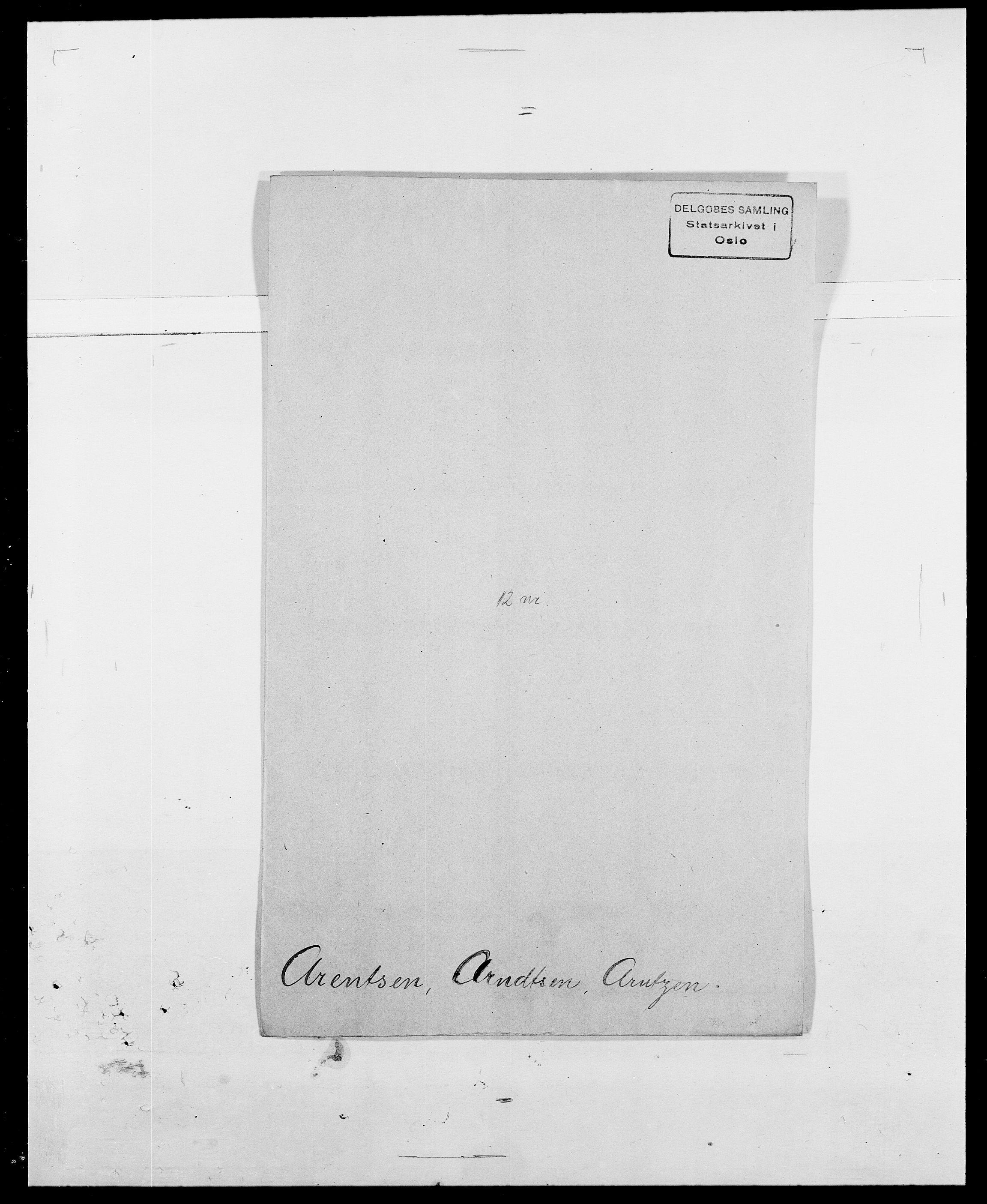 SAO, Delgobe, Charles Antoine - samling, D/Da/L0002: Anker, Ancher - Bauner, s. 259