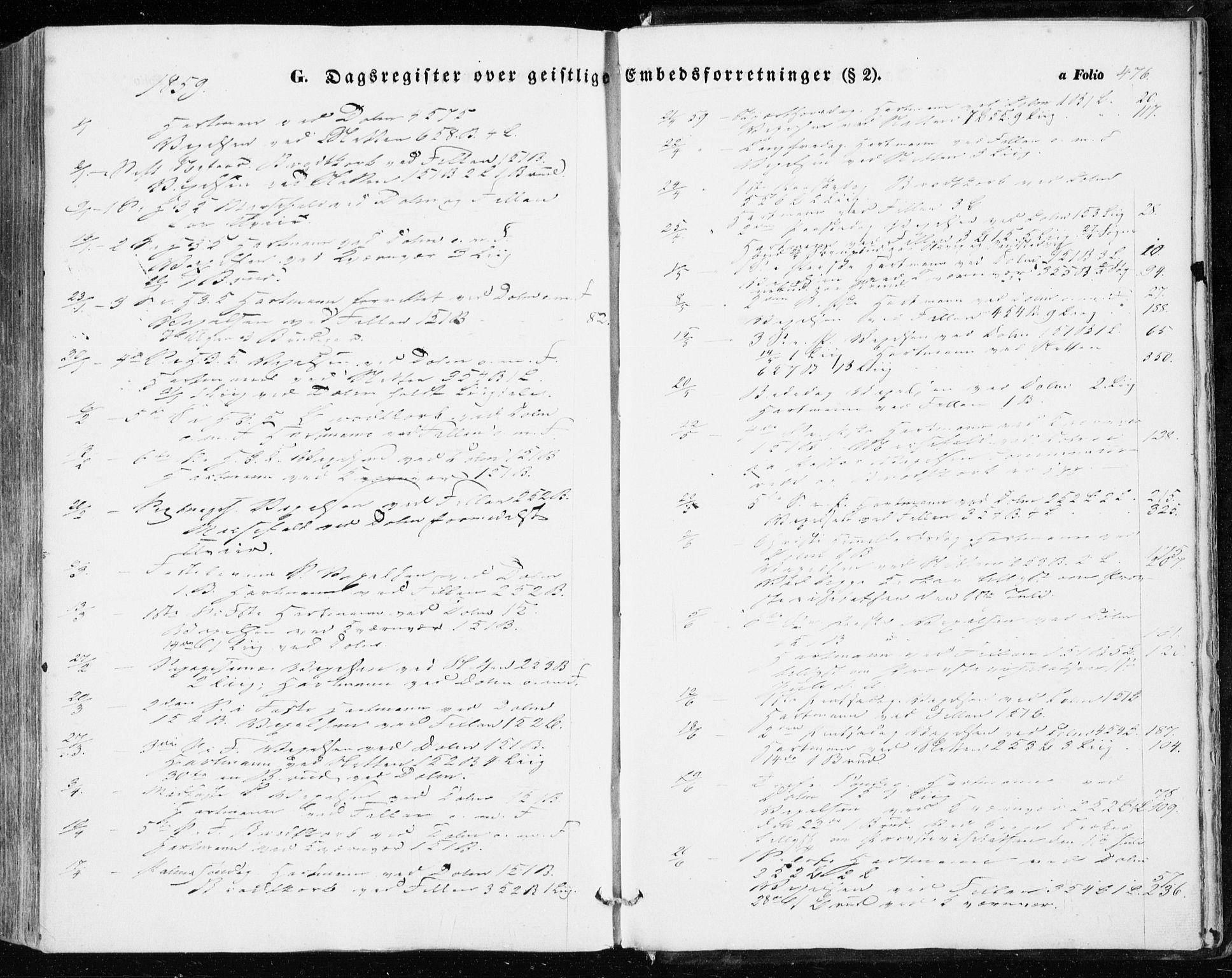 SAT, Ministerialprotokoller, klokkerbøker og fødselsregistre - Sør-Trøndelag, 634/L0530: Ministerialbok nr. 634A06, 1852-1860, s. 476