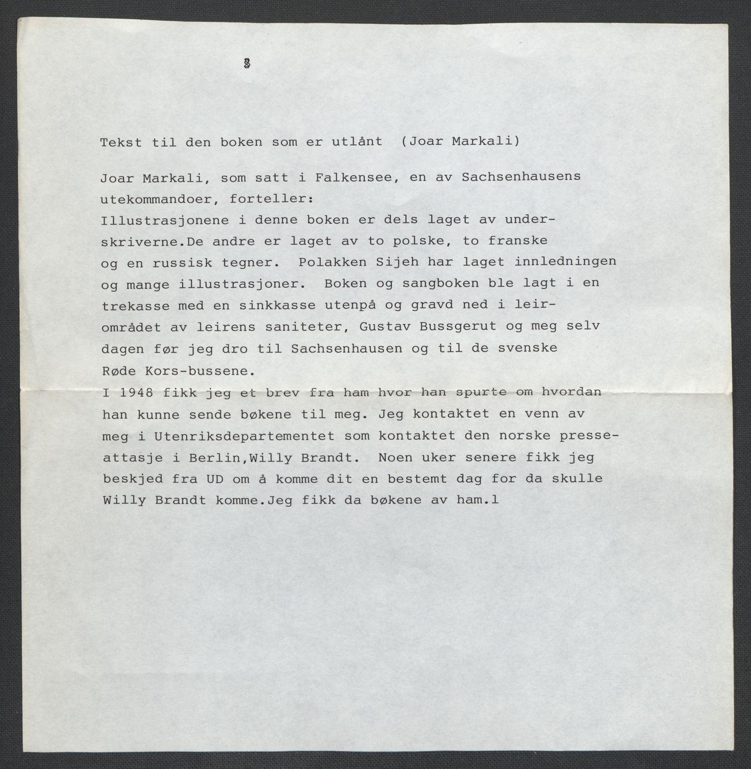 LOK, Markali, Joar (privat eiendom)*, 1943-1945, s. 1