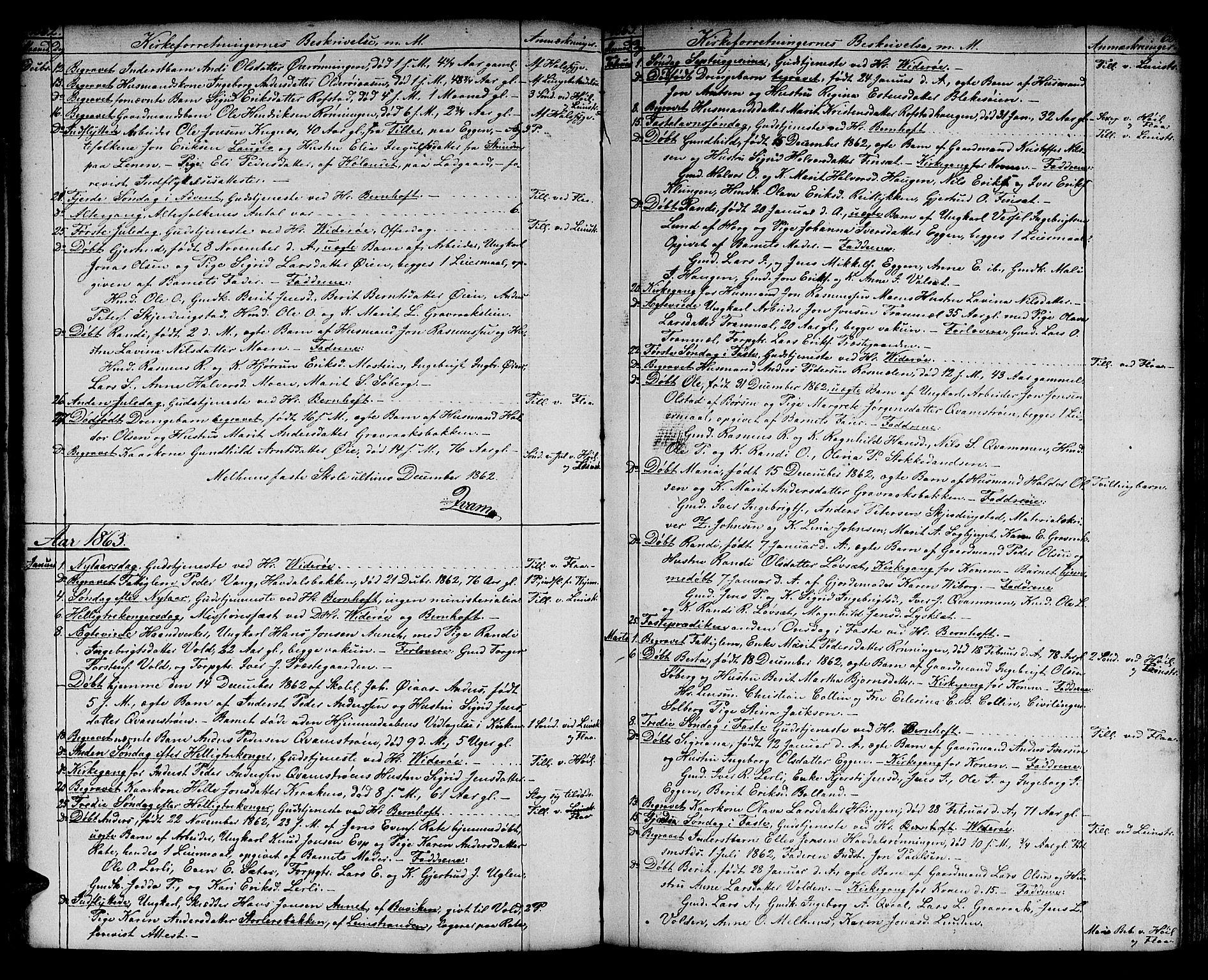 SAT, Ministerialprotokoller, klokkerbøker og fødselsregistre - Sør-Trøndelag, 691/L1093: Klokkerbok nr. 691C04, 1852-1879, s. 68