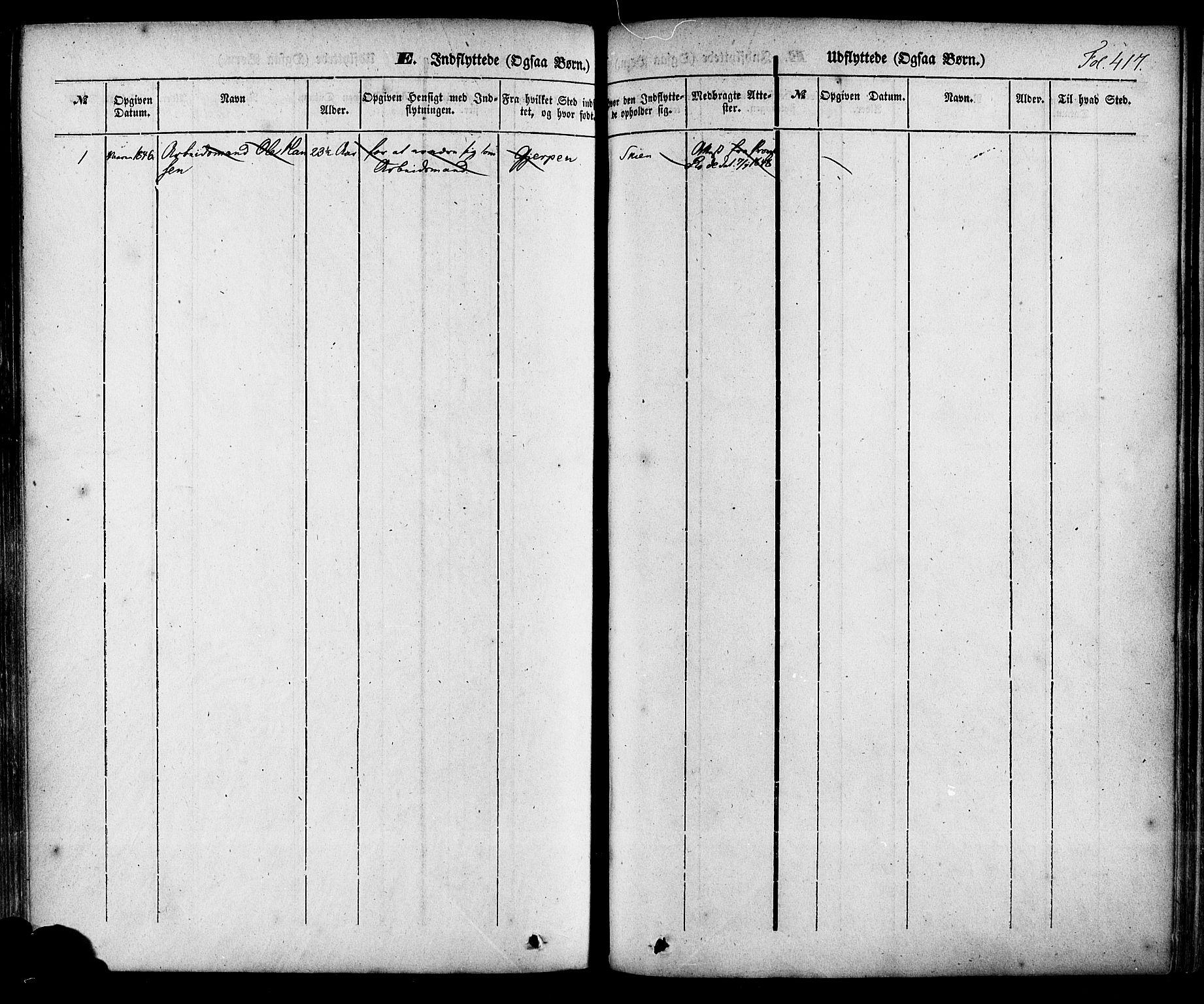 SAKO, Skien kirkebøker, F/Fa/L0006a: Ministerialbok nr. 6A, 1843-1856, s. 417
