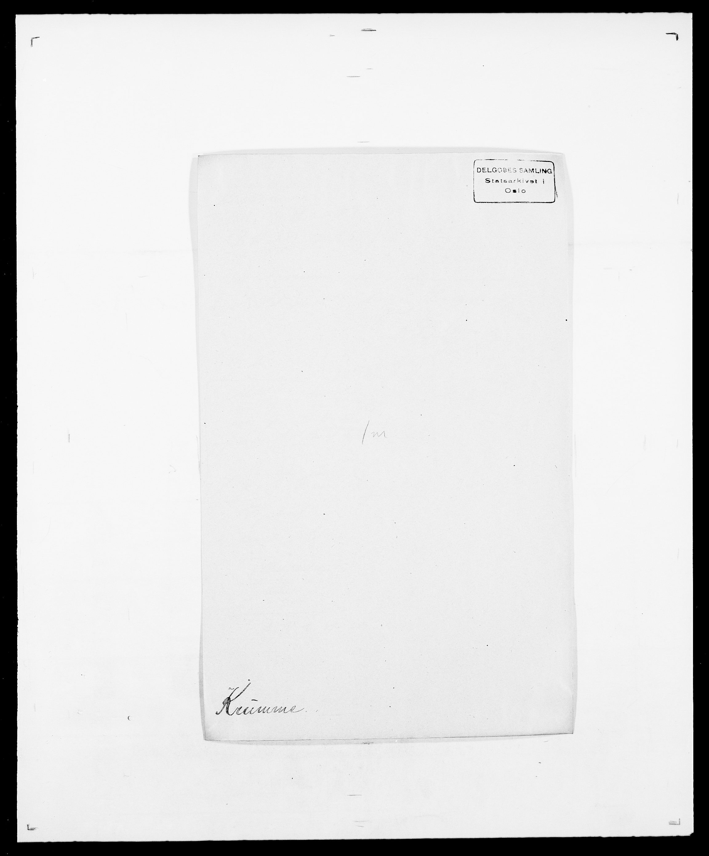 SAO, Delgobe, Charles Antoine - samling, D/Da/L0022: Krog - Lasteen, s. 142