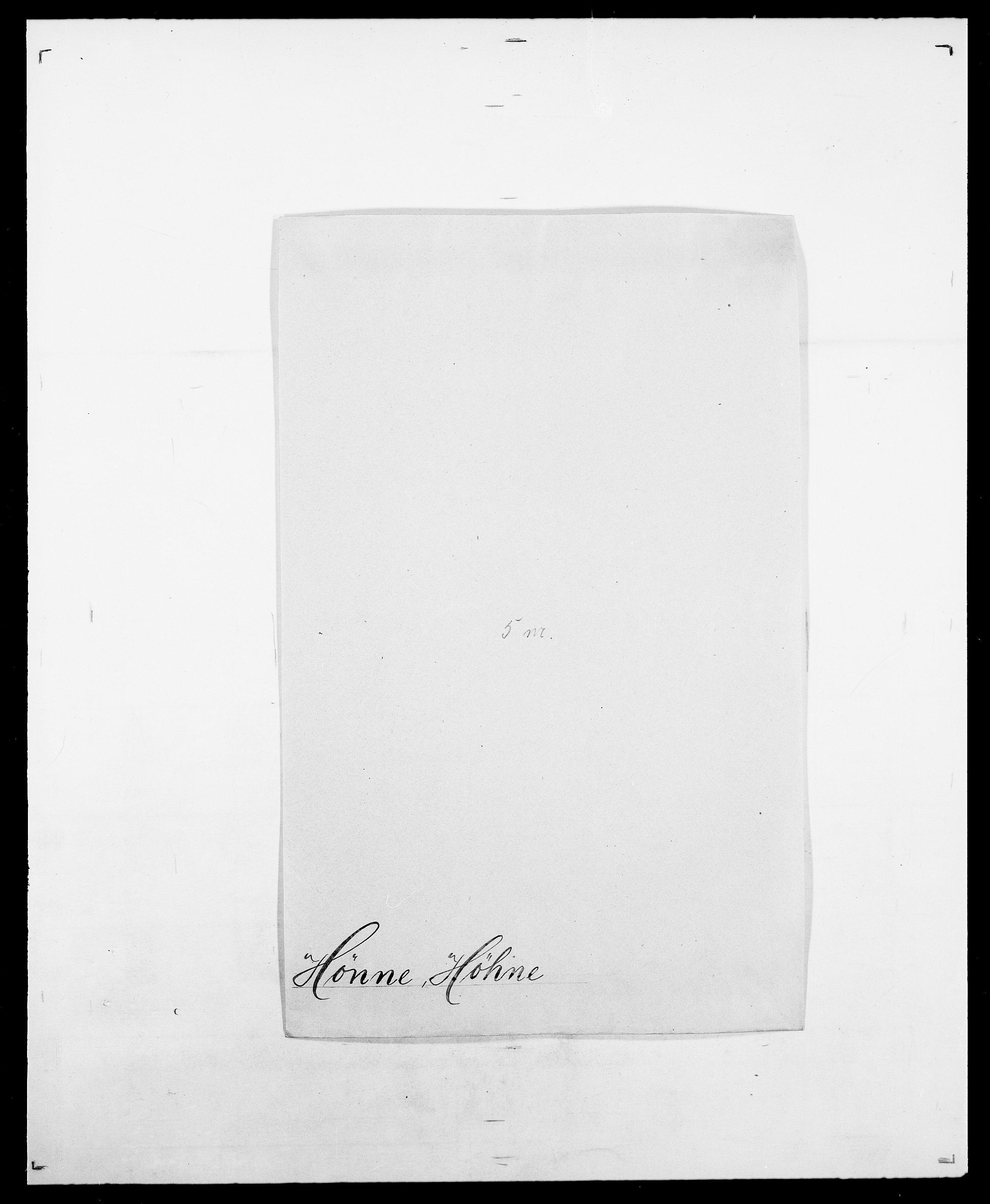 SAO, Delgobe, Charles Antoine - samling, D/Da/L0019: van der Hude - Joys, s. 362