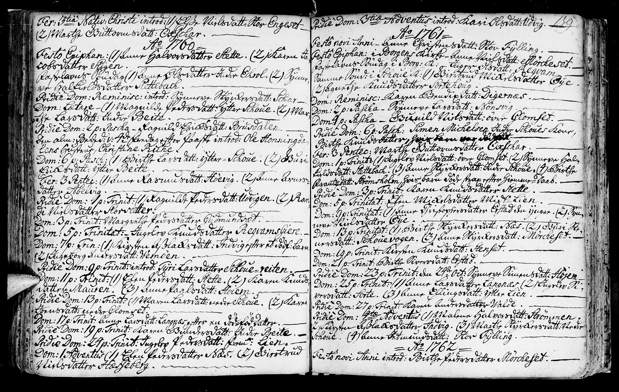 SAT, Ministerialprotokoller, klokkerbøker og fødselsregistre - Møre og Romsdal, 524/L0349: Ministerialbok nr. 524A01, 1698-1779, s. 139