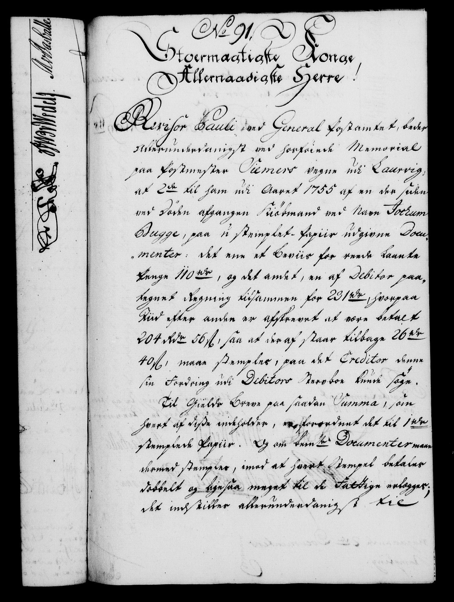 RA, Rentekammeret, Kammerkanselliet, G/Gf/Gfa/L0039: Norsk relasjons- og resolusjonsprotokoll (merket RK 52.39), 1757, s. 538