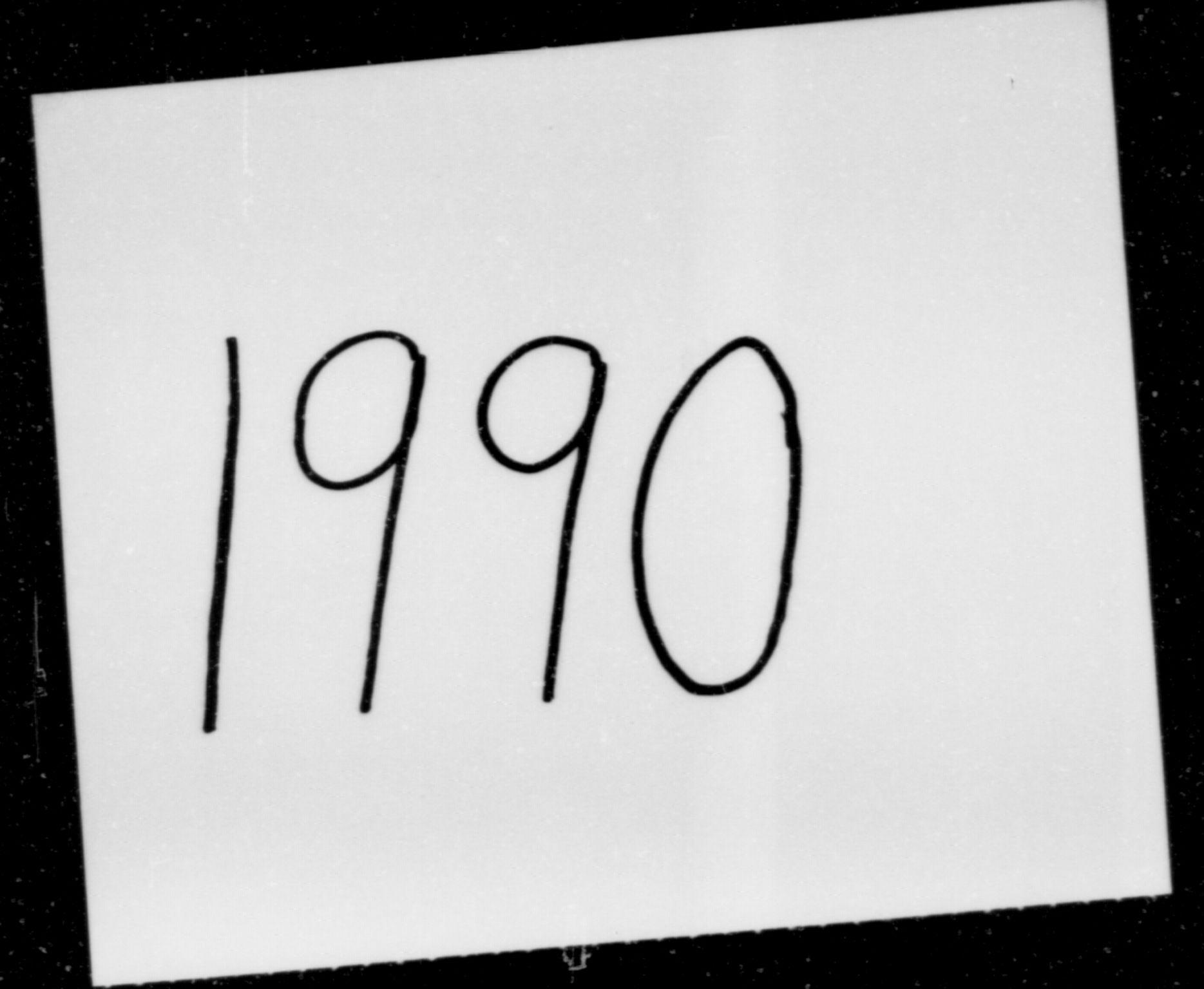 RA, Det norske meteorologiske institutt, 1990, s. 1