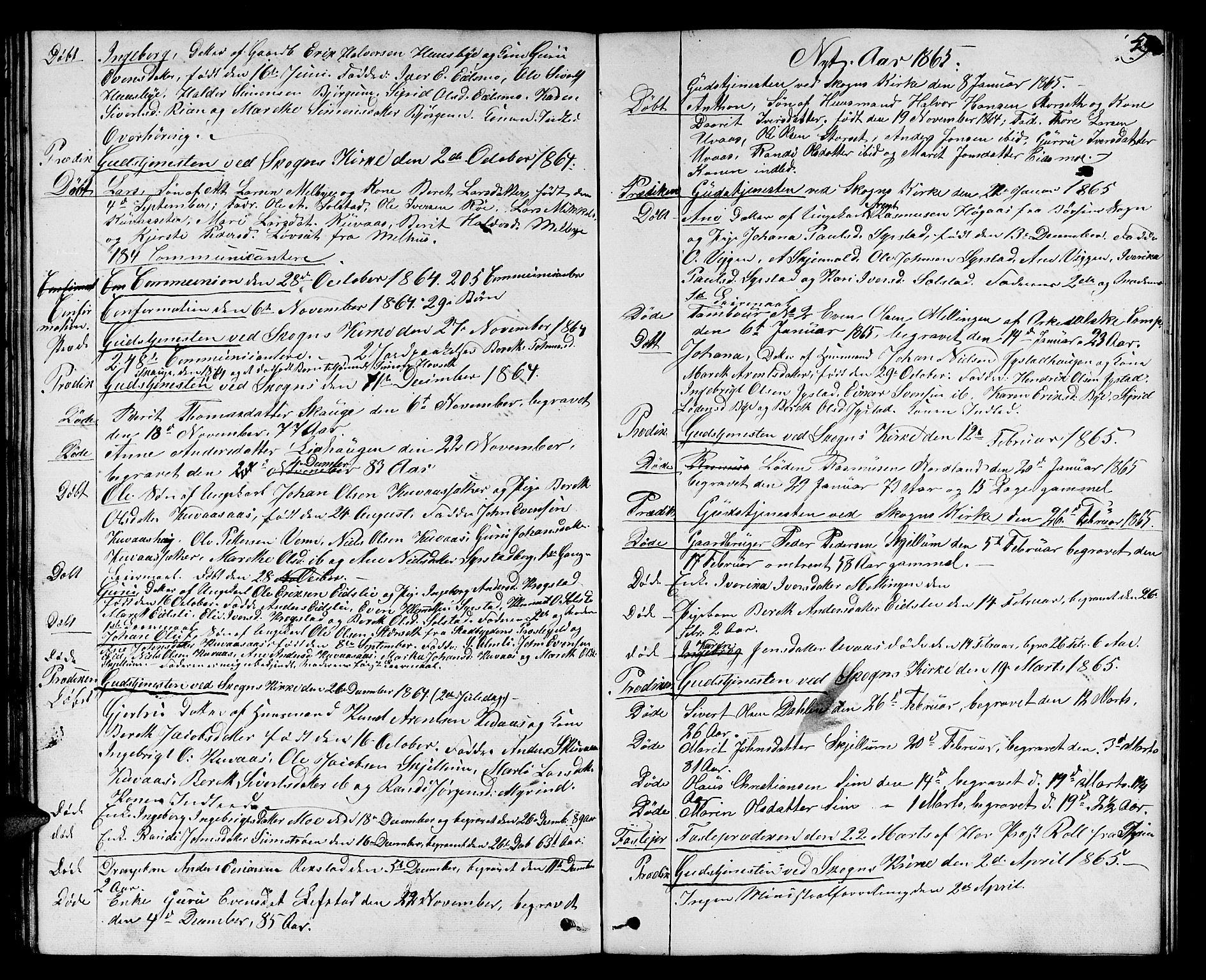 SAT, Ministerialprotokoller, klokkerbøker og fødselsregistre - Sør-Trøndelag, 667/L0797: Klokkerbok nr. 667C02, 1849-1867, s. 49