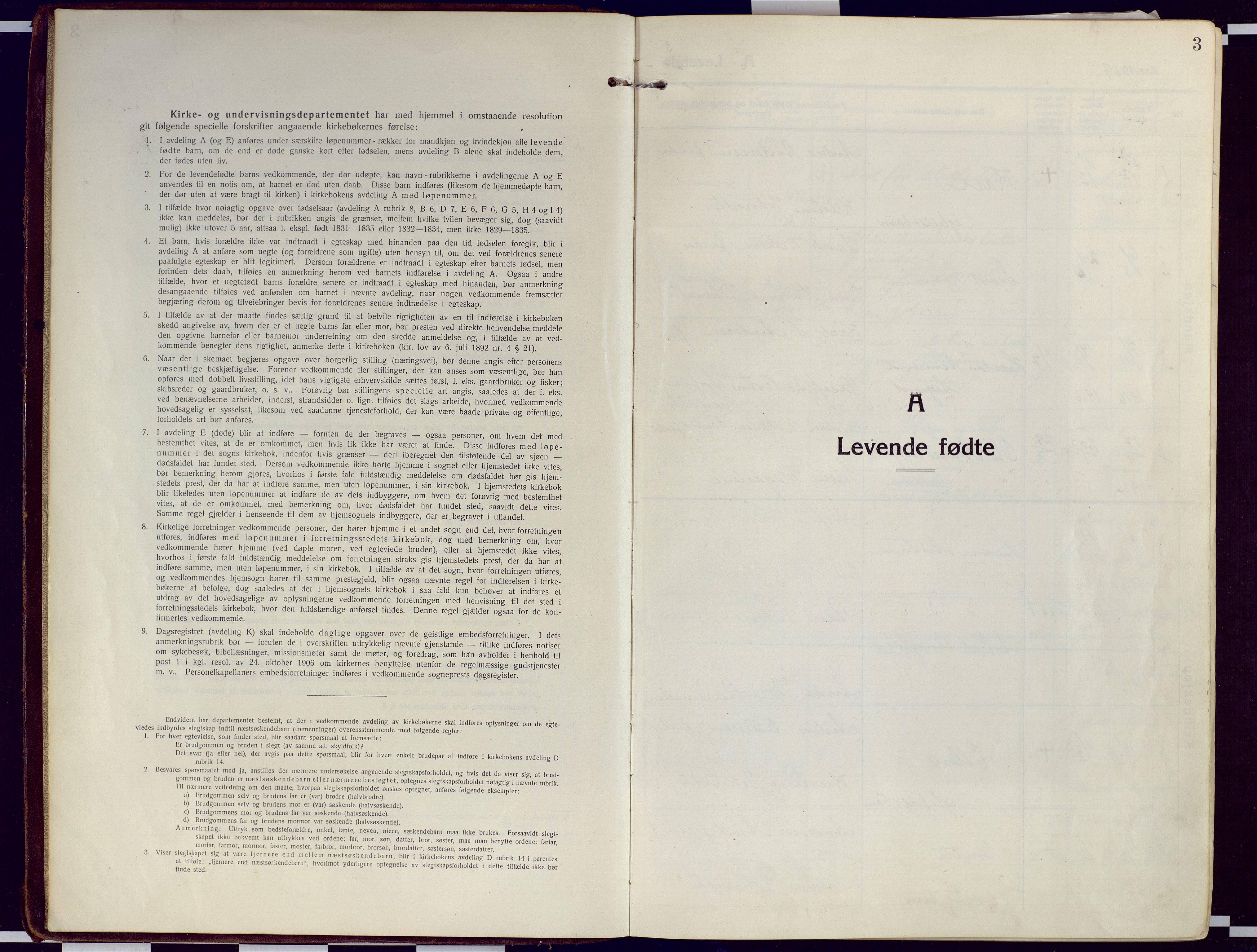 SATØ, Loppa sokneprestkontor, H/Ha/L0012kirke: Ministerialbok nr. 12, 1917-1932, s. 3