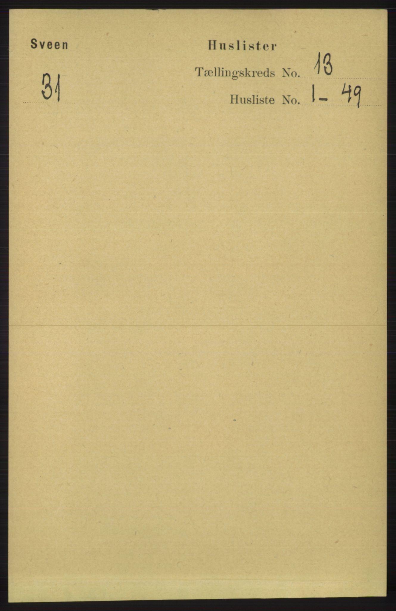 RA, Folketelling 1891 for 1216 Sveio herred, 1891, s. 3617
