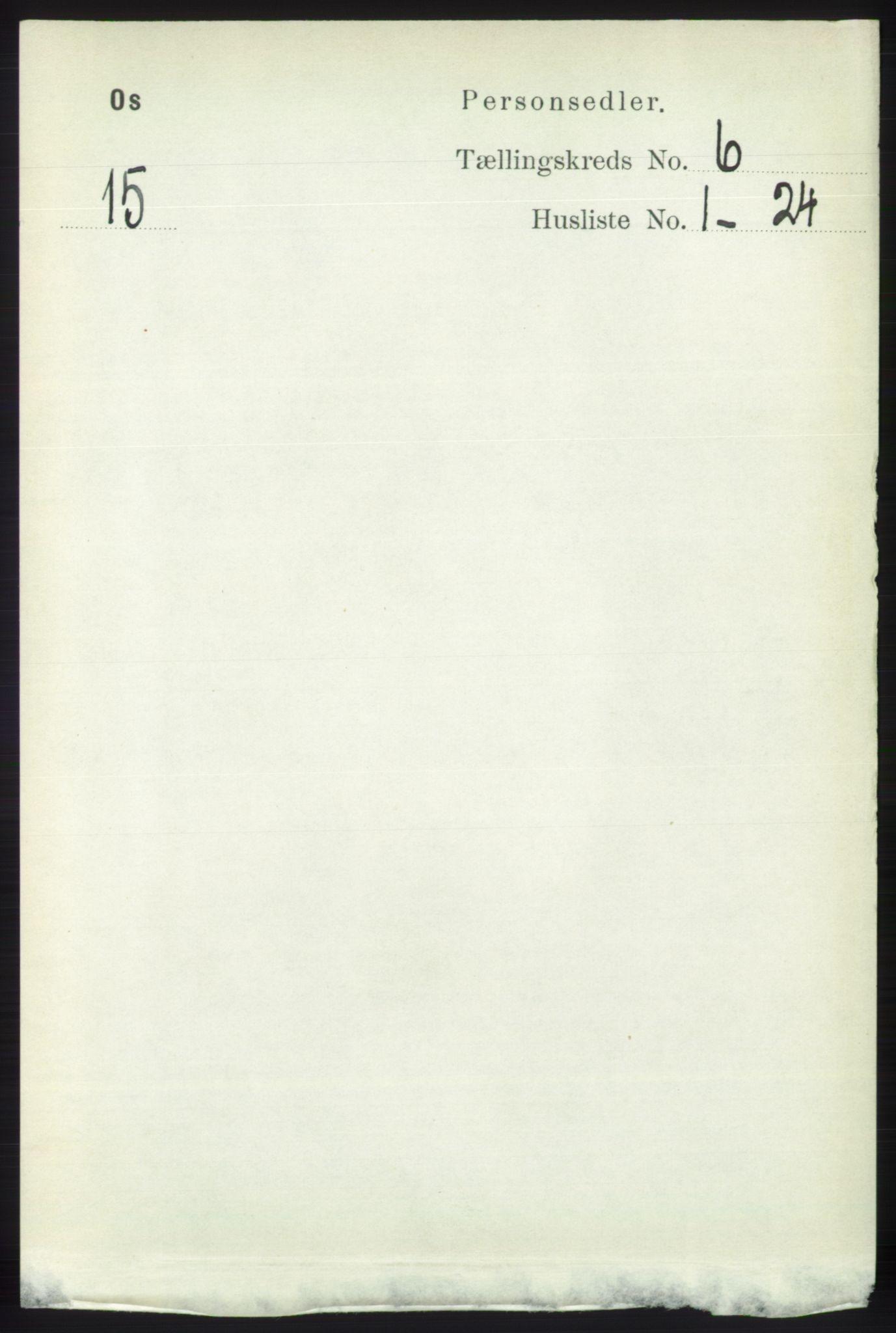 RA, Folketelling 1891 for 1243 Os herred, 1891, s. 1429
