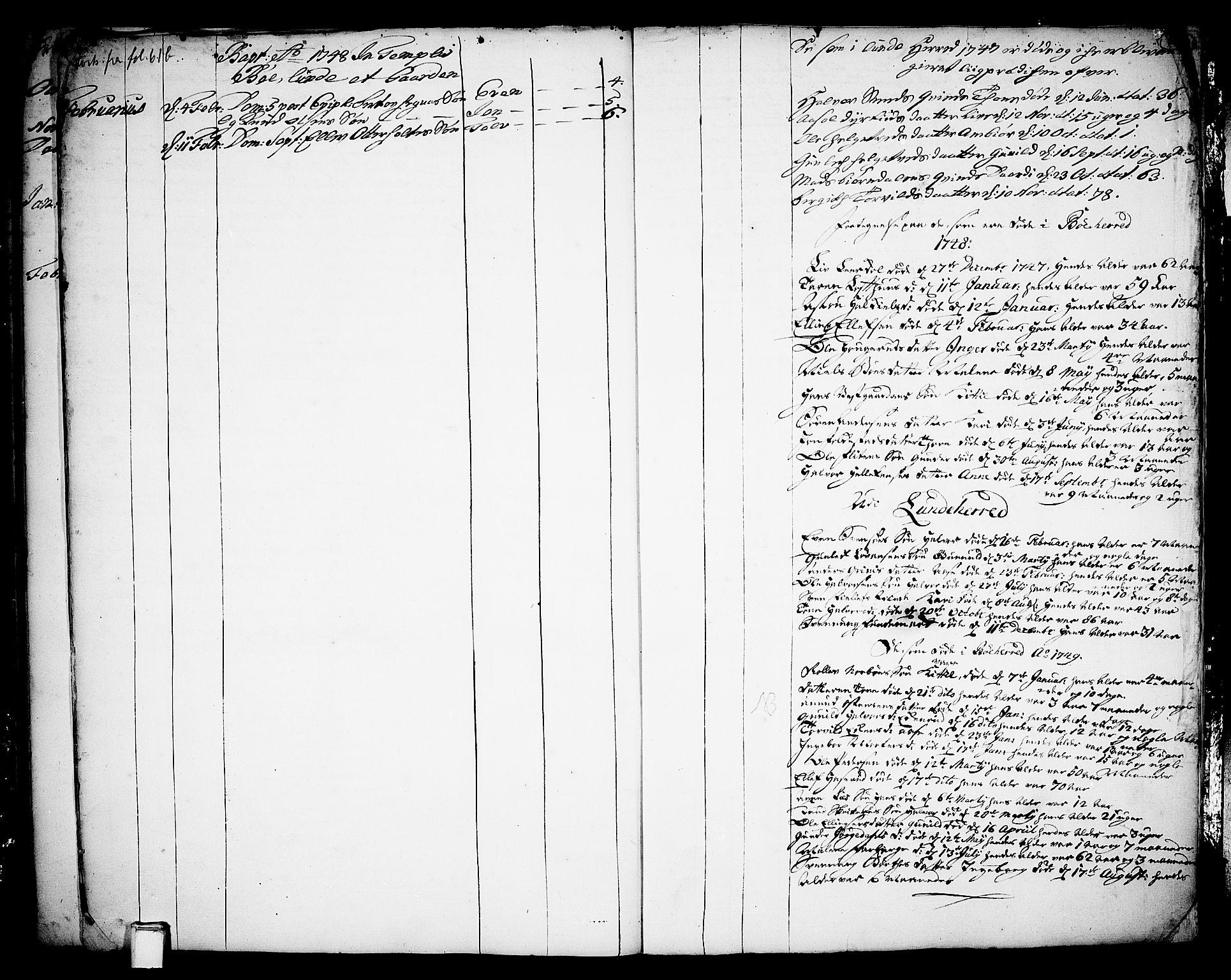 SAKO, Bø kirkebøker, F/Fa/L0003: Ministerialbok nr. 3, 1733-1748, s. 63