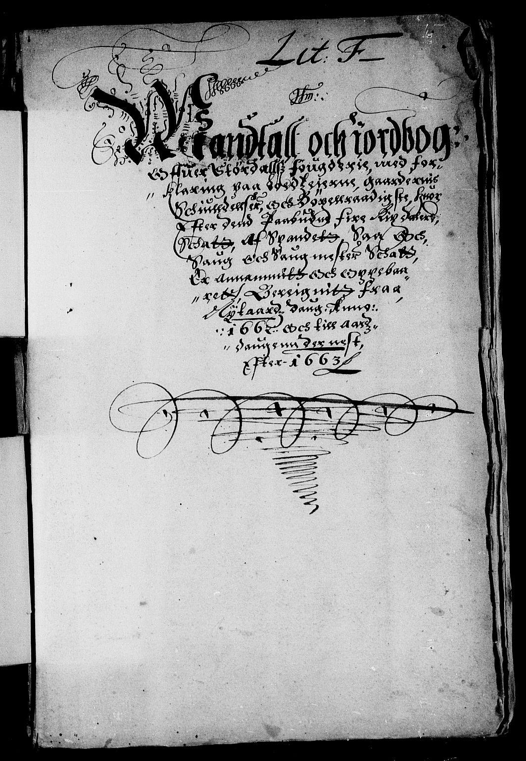 RA, Rentekammeret inntil 1814, Reviderte regnskaper, Stiftamtstueregnskaper, Trondheim stiftamt og Nordland amt, R/Rd/L0002: Trondheim stiftamt, 1662