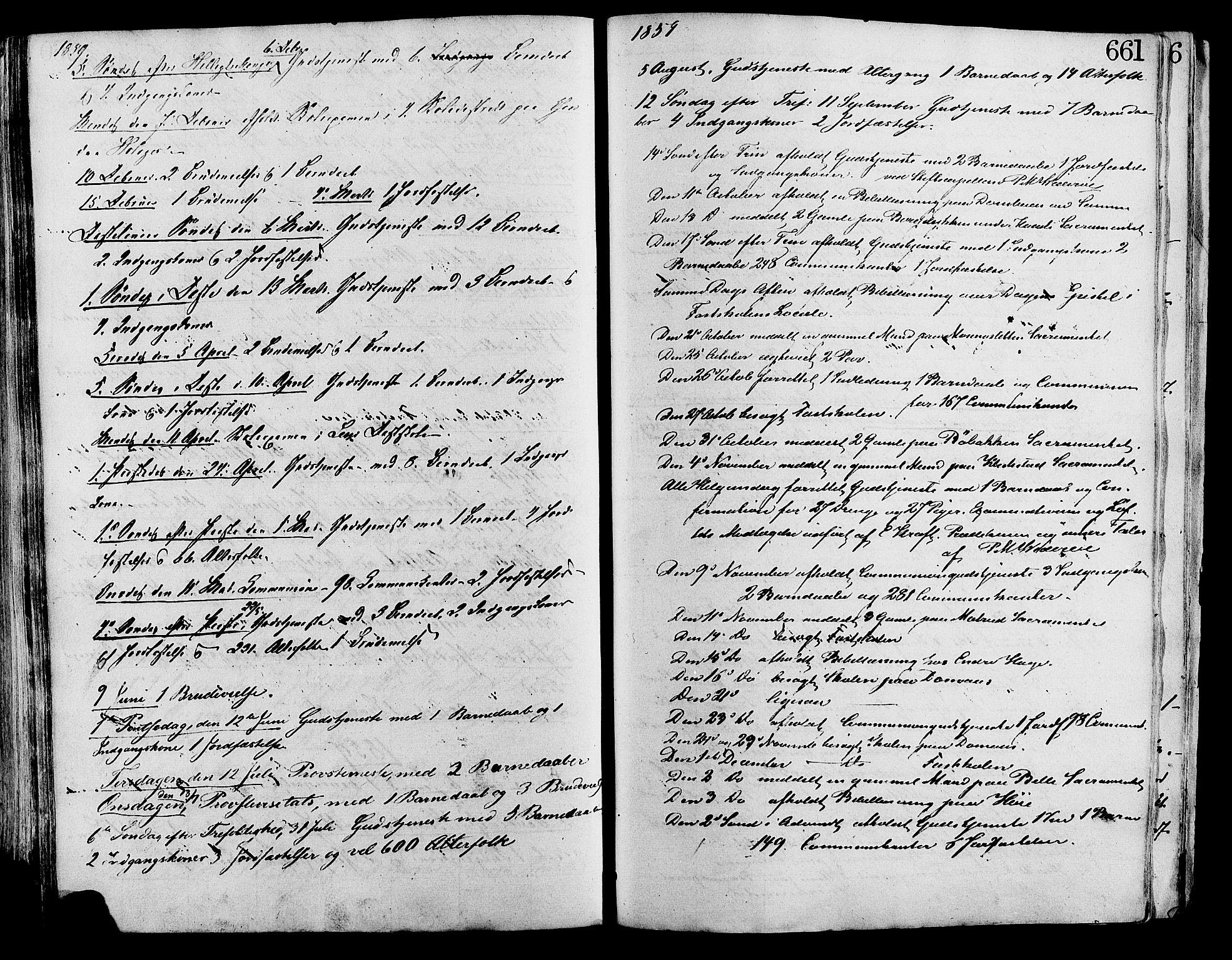 SAH, Lesja prestekontor, Ministerialbok nr. 8, 1854-1880, s. 661