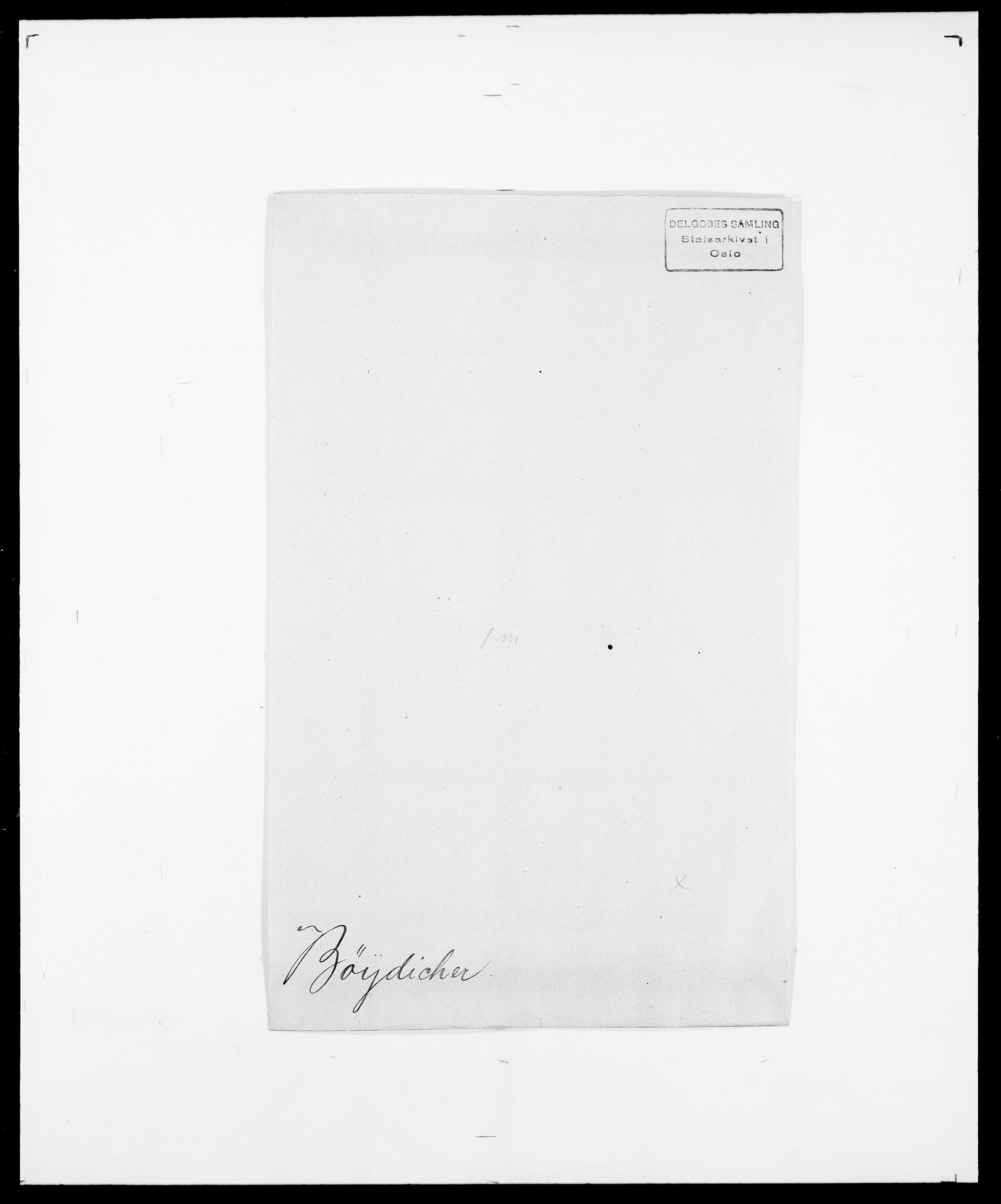 SAO, Delgobe, Charles Antoine - samling, D/Da/L0007: Buaas - Caphengst, s. 809