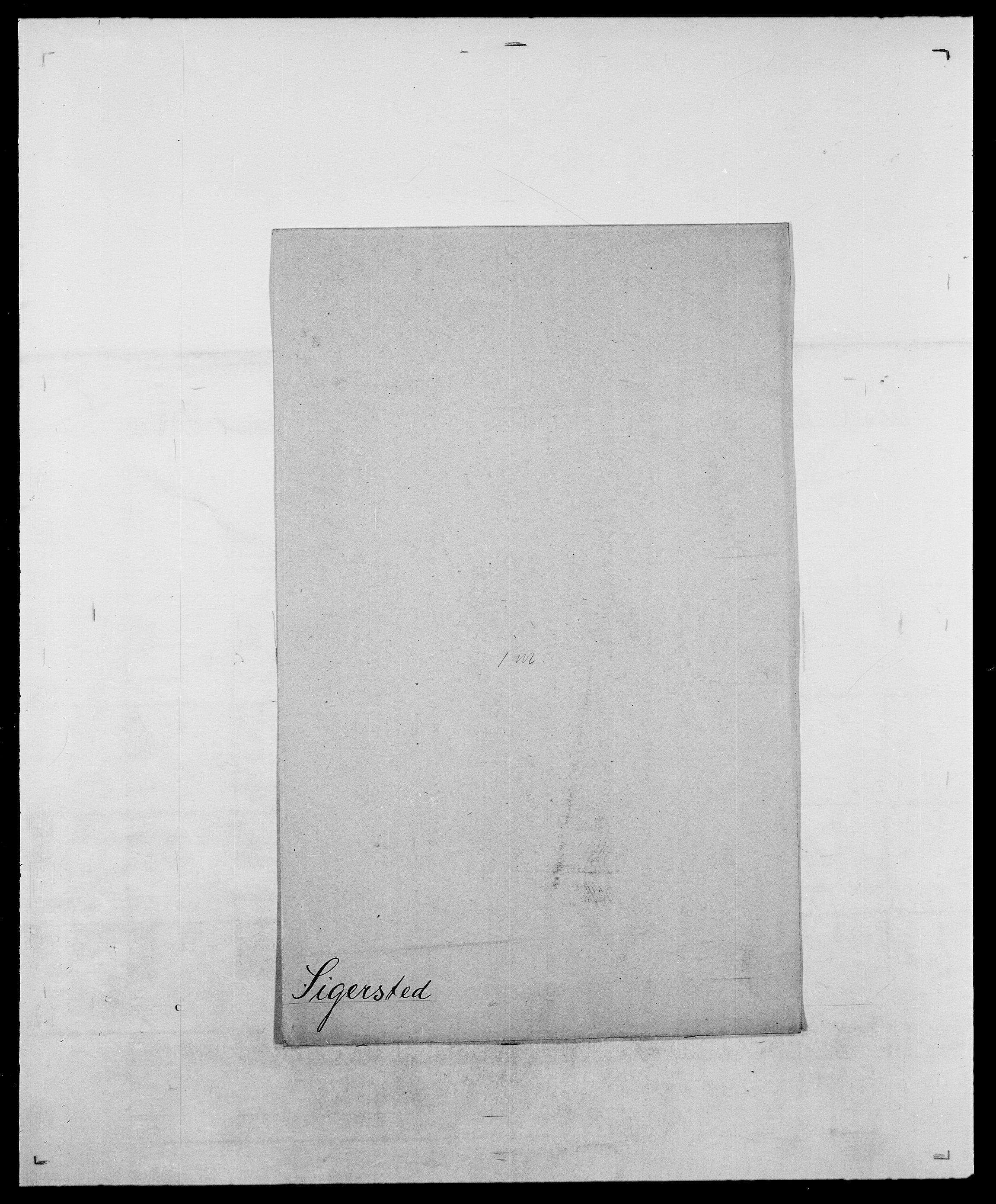 SAO, Delgobe, Charles Antoine - samling, D/Da/L0035: Schnabel - sjetman, s. 782
