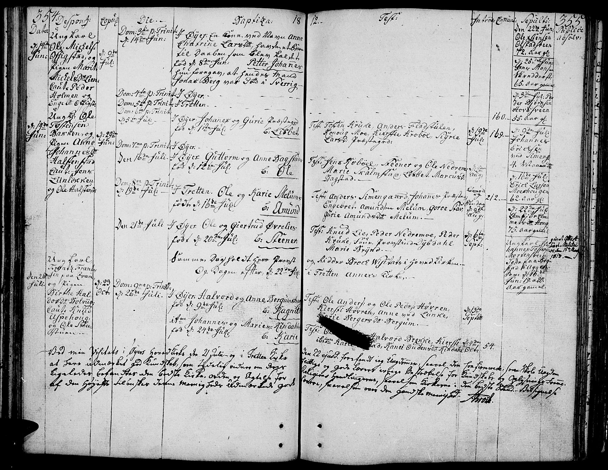 SAH, Øyer prestekontor, Ministerialbok nr. 3, 1784-1824, s. 354-355