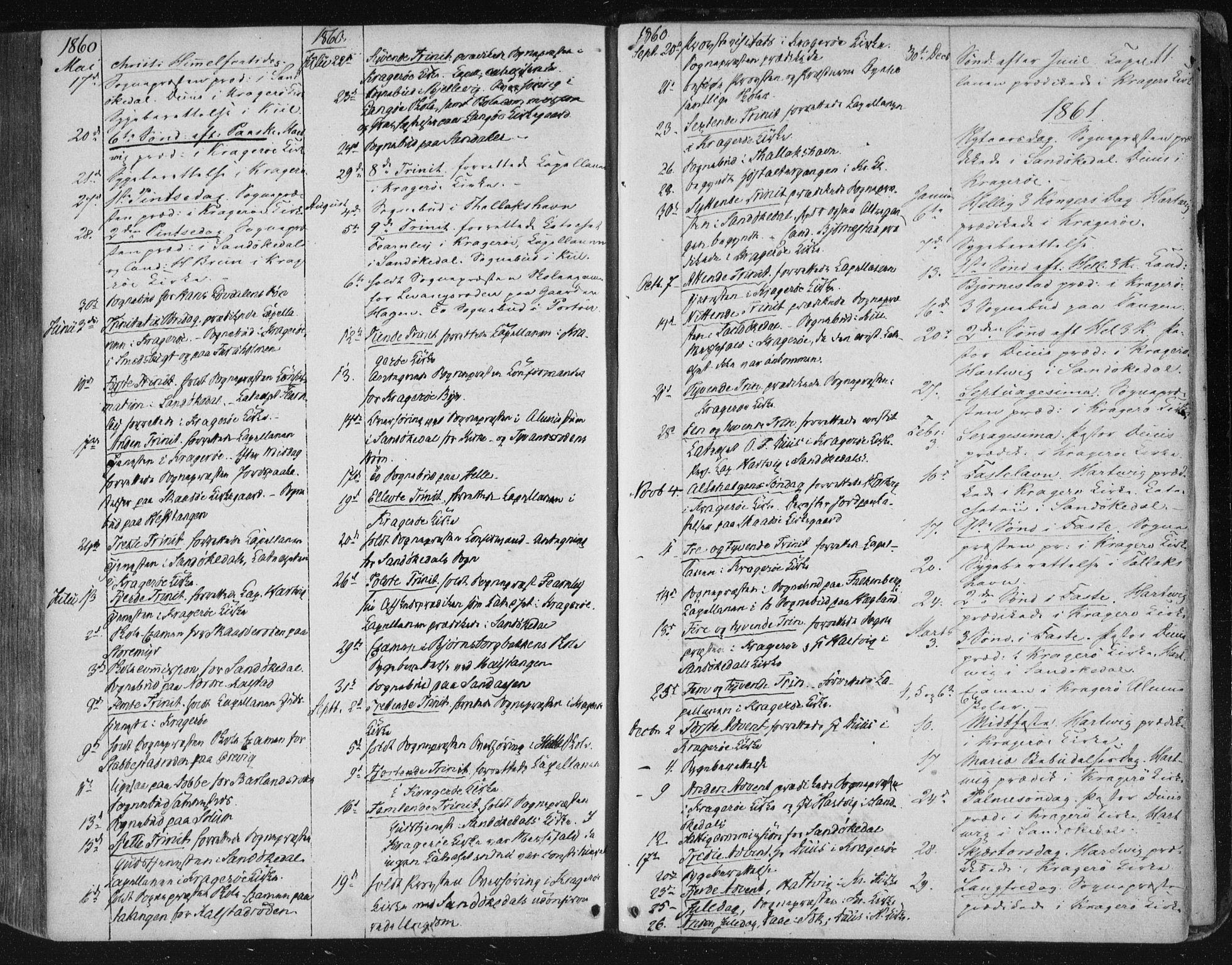 SAKO, Kragerø kirkebøker, F/Fa/L0006: Ministerialbok nr. 6, 1847-1861, s. 11