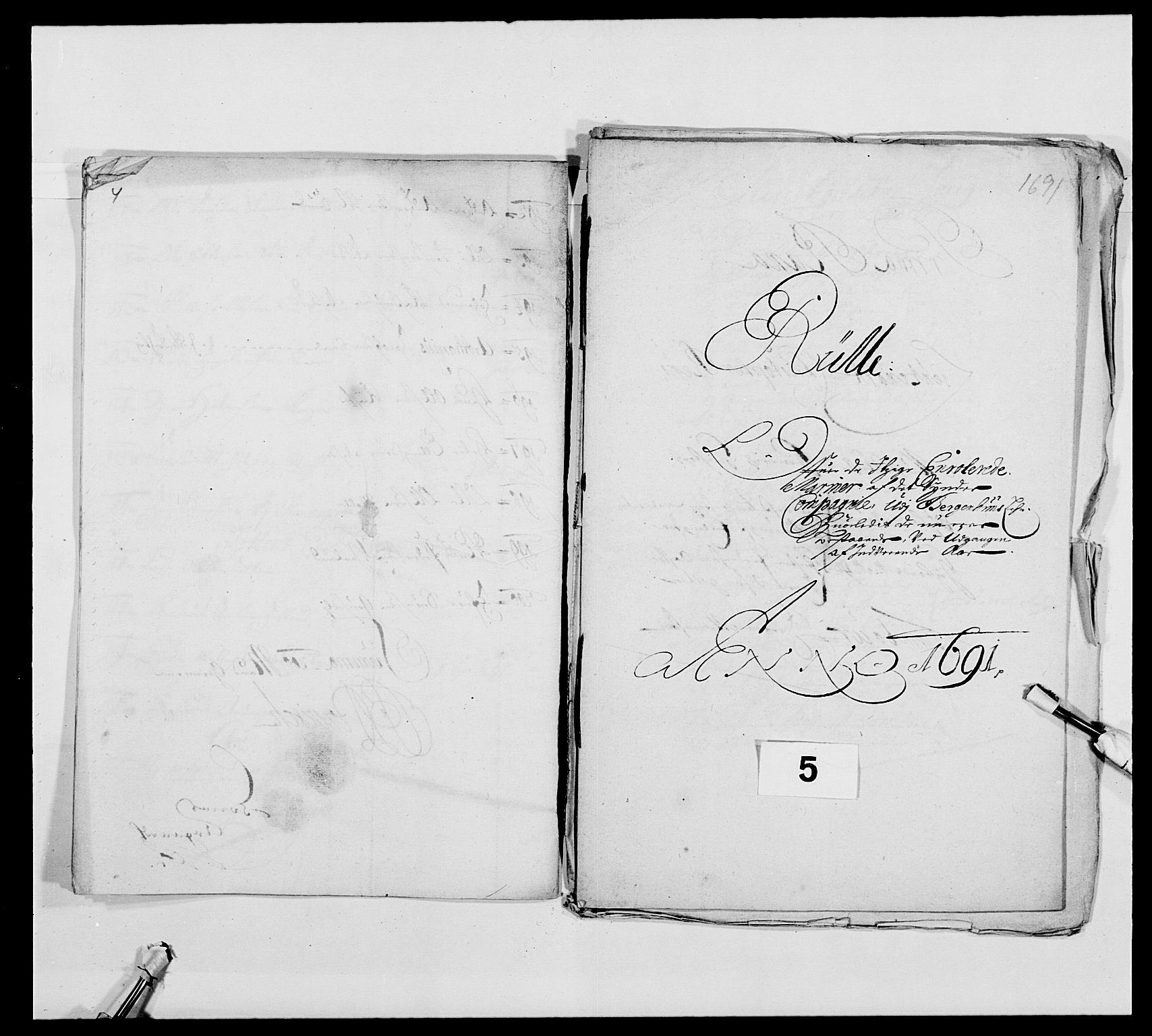 RA, Kommanderende general (KG I) med Det norske krigsdirektorium, E/Ea/L0473: Marineregimentet, 1664-1700, s. 144