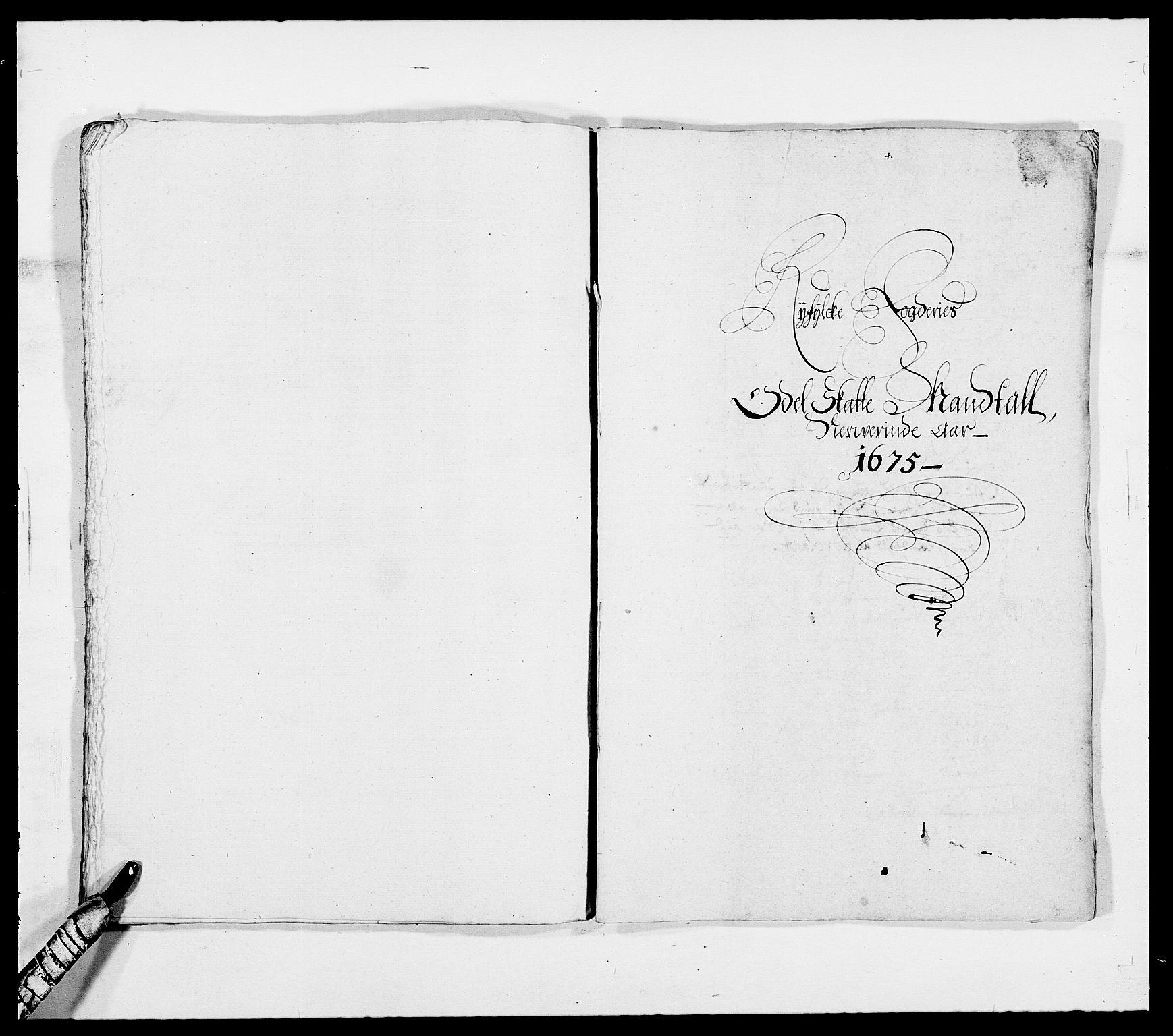 RA, Rentekammeret inntil 1814, Reviderte regnskaper, Fogderegnskap, R47/L2845: Fogderegnskap Ryfylke, 1674-1675, s. 298