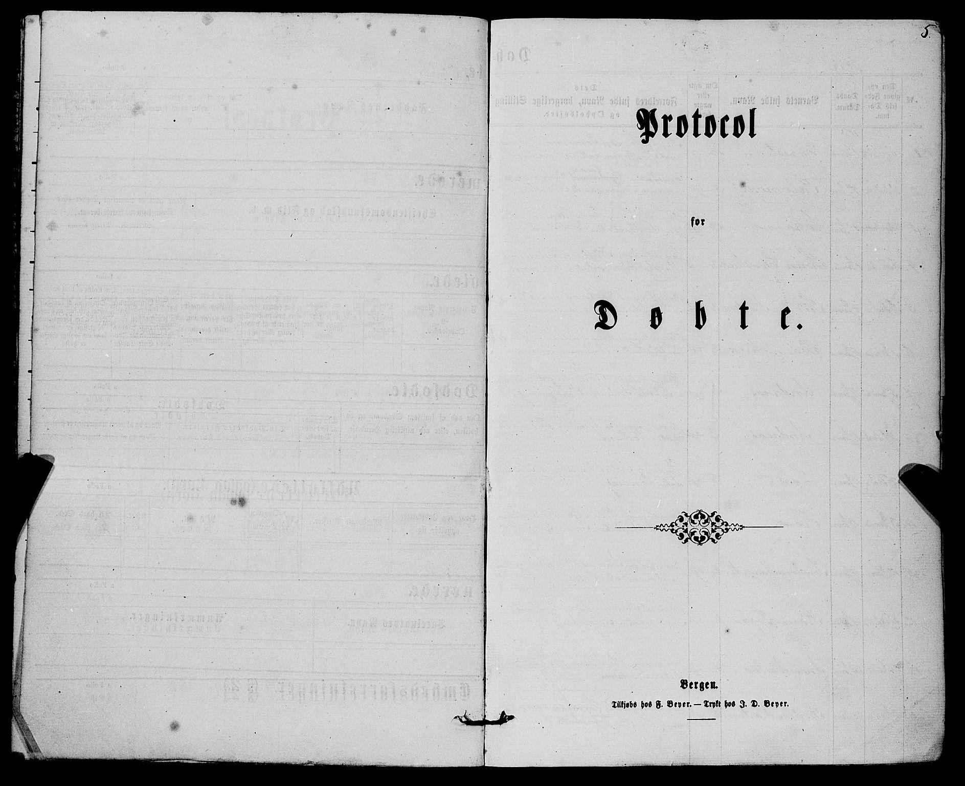 SAB, Finnås sokneprestembete, H/Ha/Haa/Haaa/L0008: Ministerialbok nr. A 8, 1863-1872, s. 5